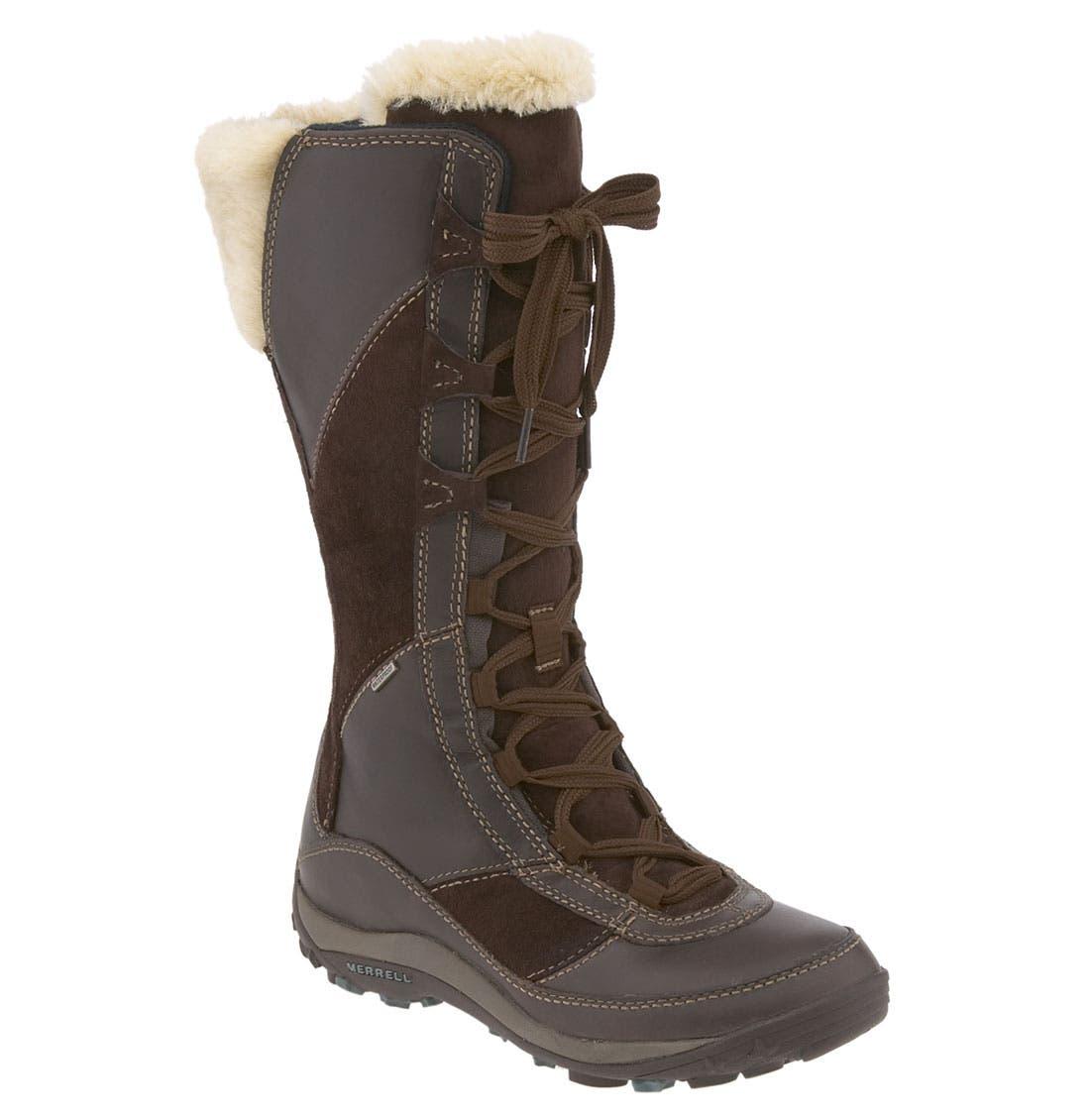 Alternate Image 1 Selected - Merrell 'Prevoz' Waterproof Tall Boot