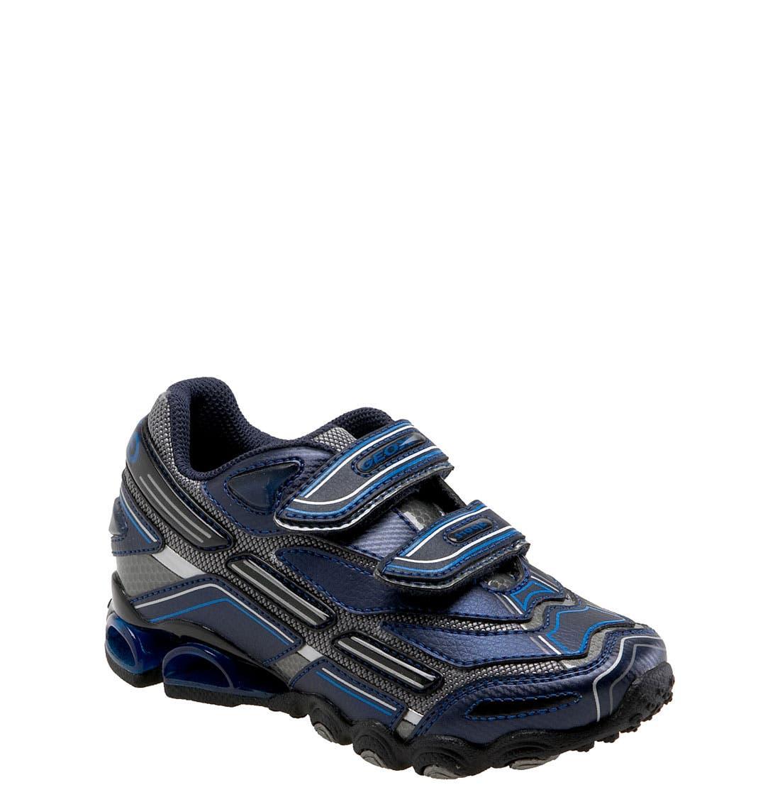 Alternate Image 1 Selected - Geox 'Tornado' Sneaker (Toddler, Little Kid & Big Kid)