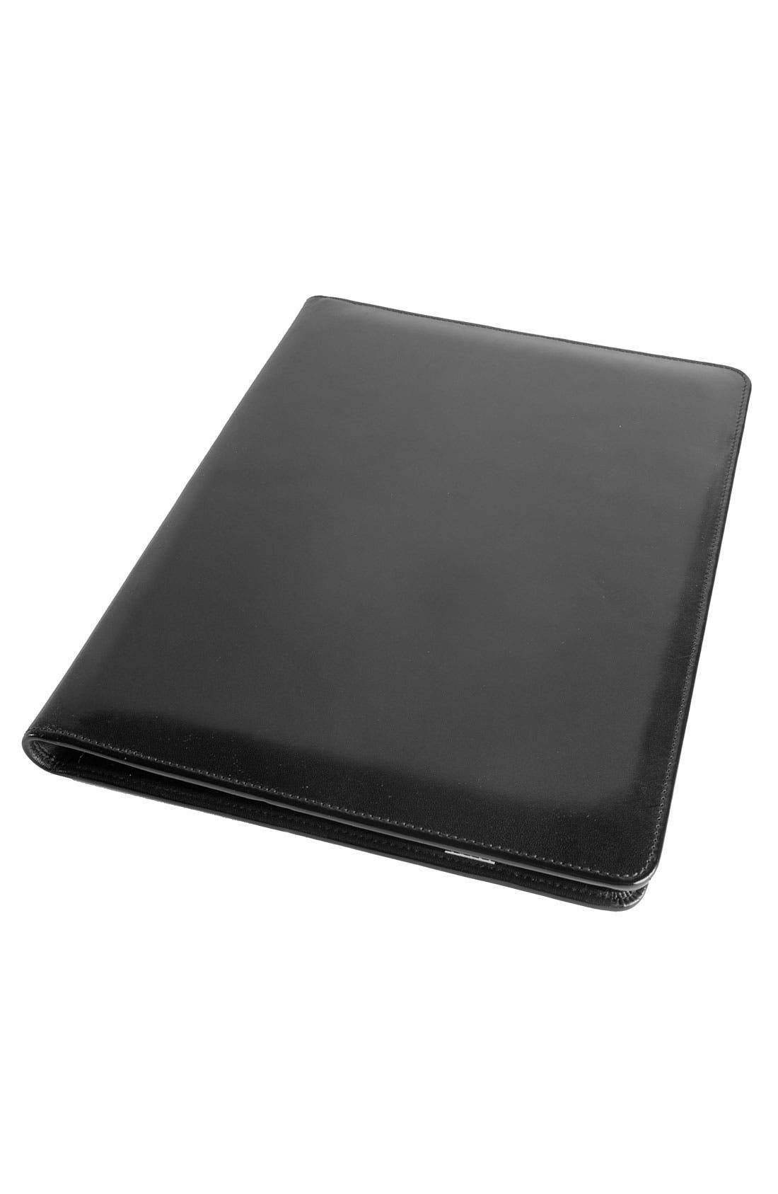 Alternate Image 1 Selected - Bosca Leather Letter Pad Cover