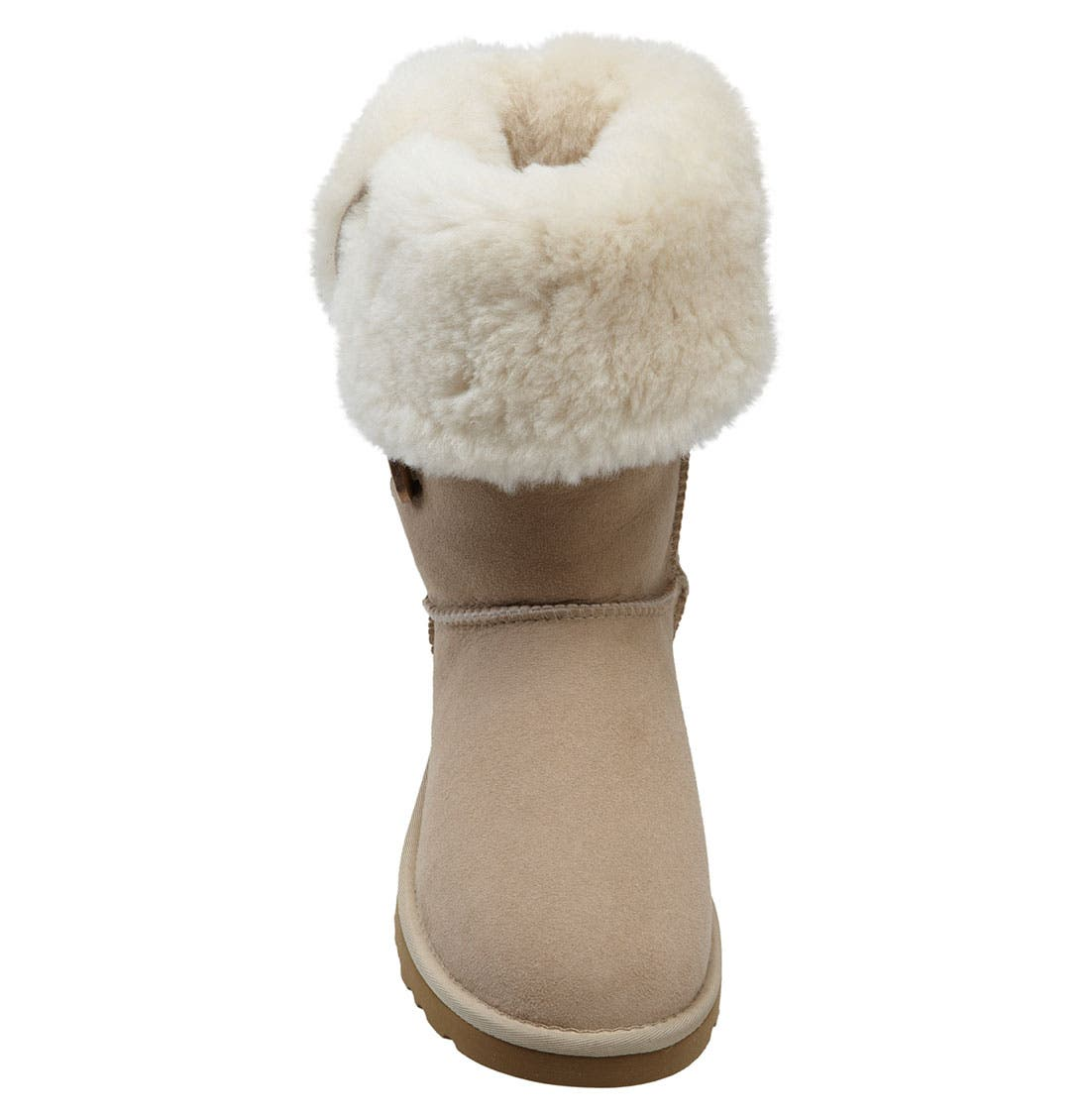Alternate Image 3  - UGG® 'Bailey Button Triplet' Boot (Women)