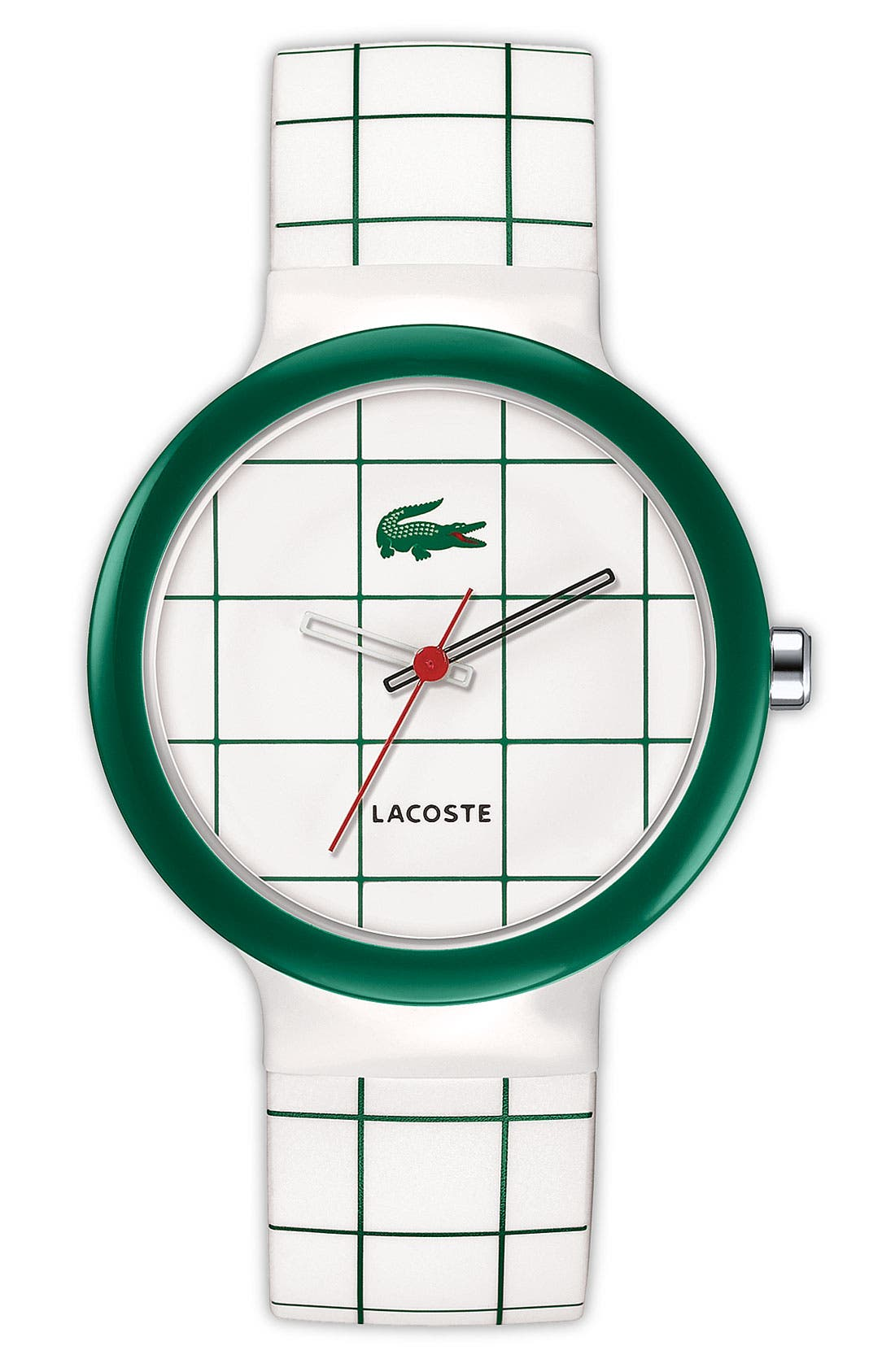 Alternate Image 1 Selected - Lacoste 'Goa' Plastic Bezel Watch