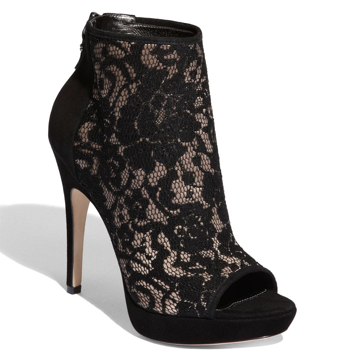 Alternate Image 1 Selected - Via Spiga 'Evanna' Lace Bootie