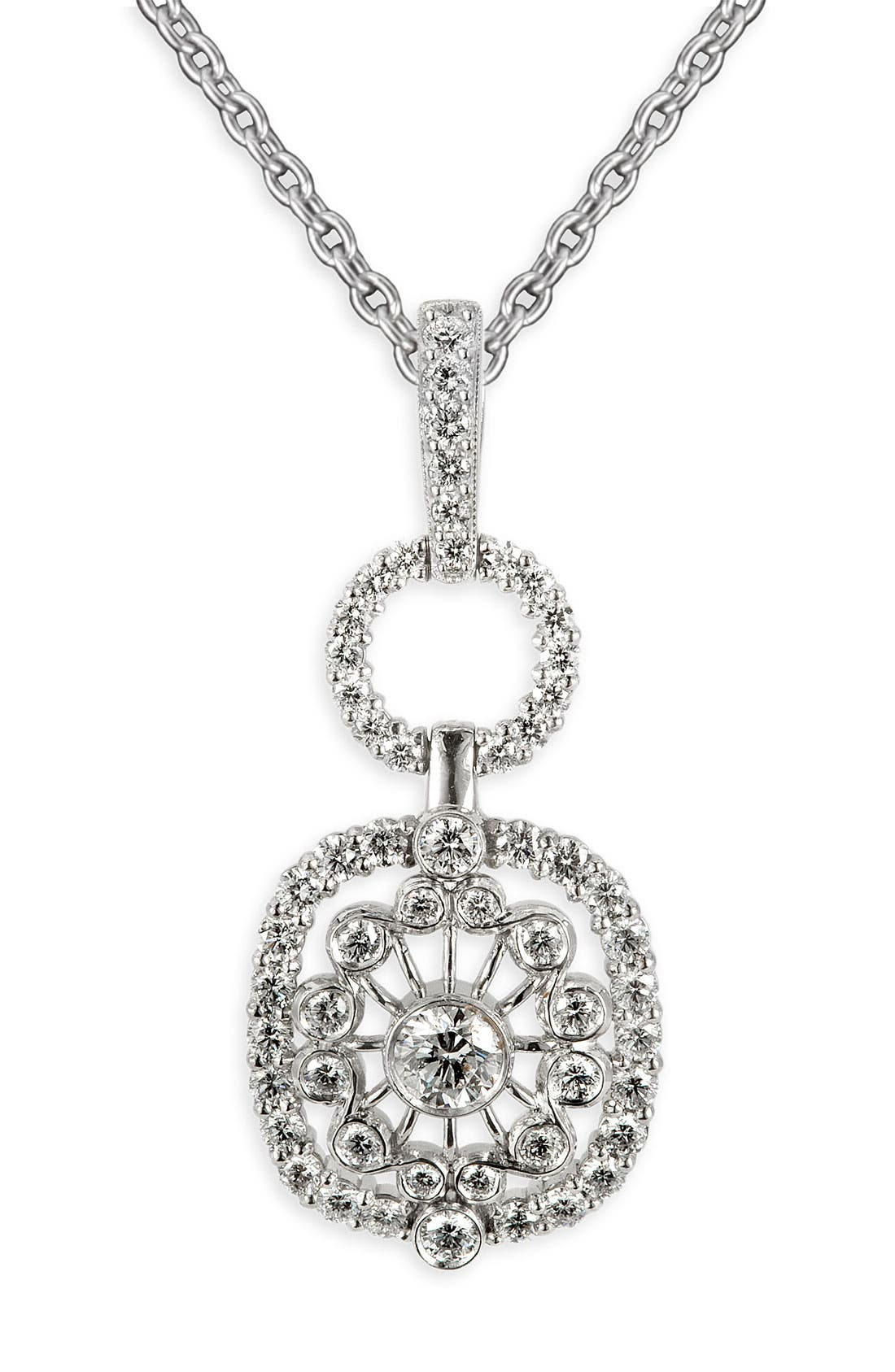 Alternate Image 1 Selected - Jack Kelége 'Byzantine' Diamond Pendant Necklace