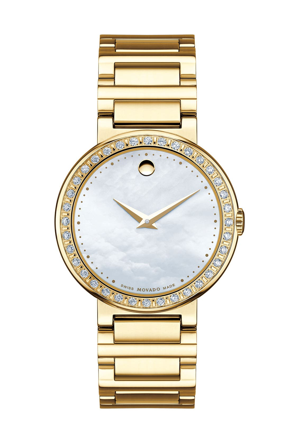 Alternate Image 1 Selected - Movado 'Concerto' Diamond Watch