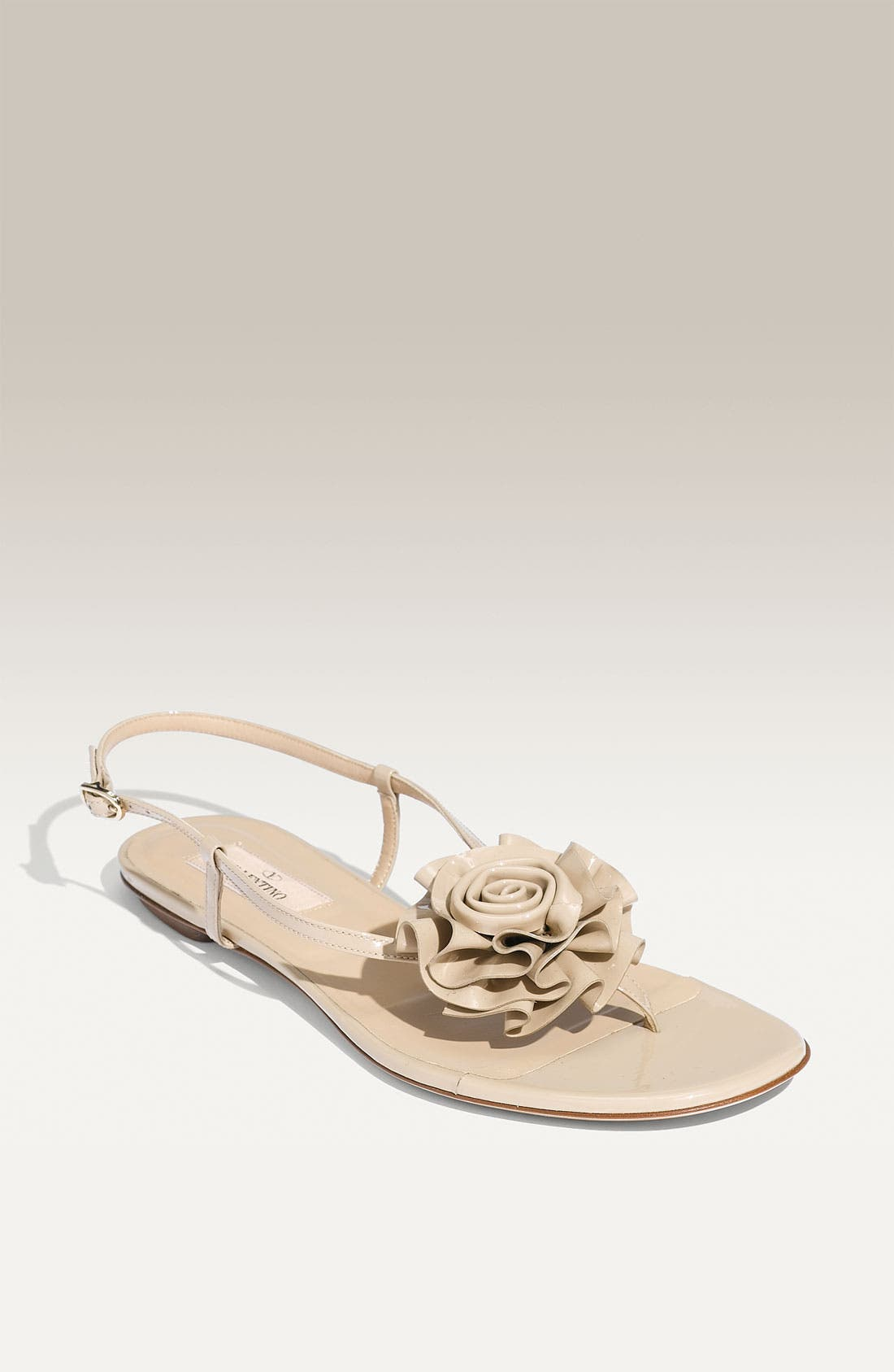 Alternate Image 1 Selected - Valentino 'Petale' Thong Sandal