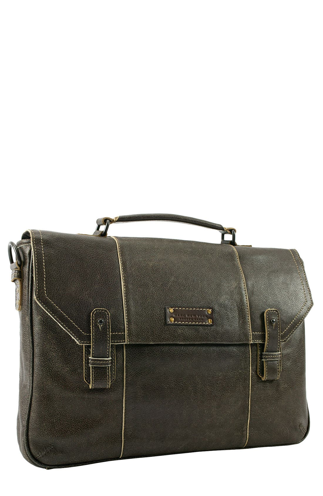 Main Image - Marc New York by Andrew Marc Accessories Leather Briefcase
