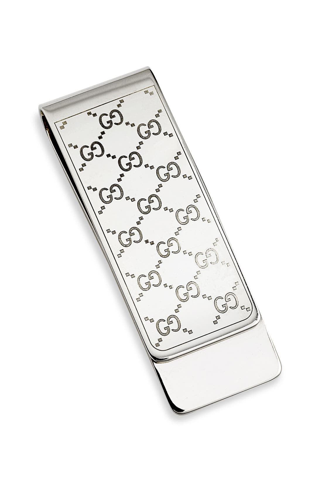 Alternate Image 1 Selected - Gucci 'Icon' Silver Money Clip