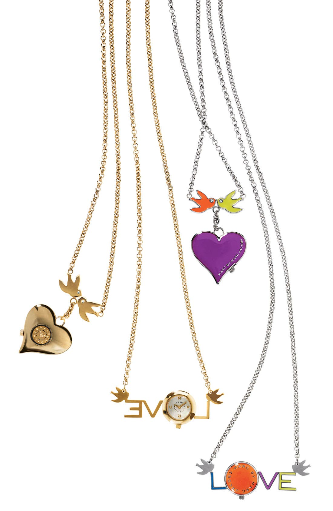 Alternate Image 3  - MARC BY MARC JACOBS 'Love' Watch Necklace