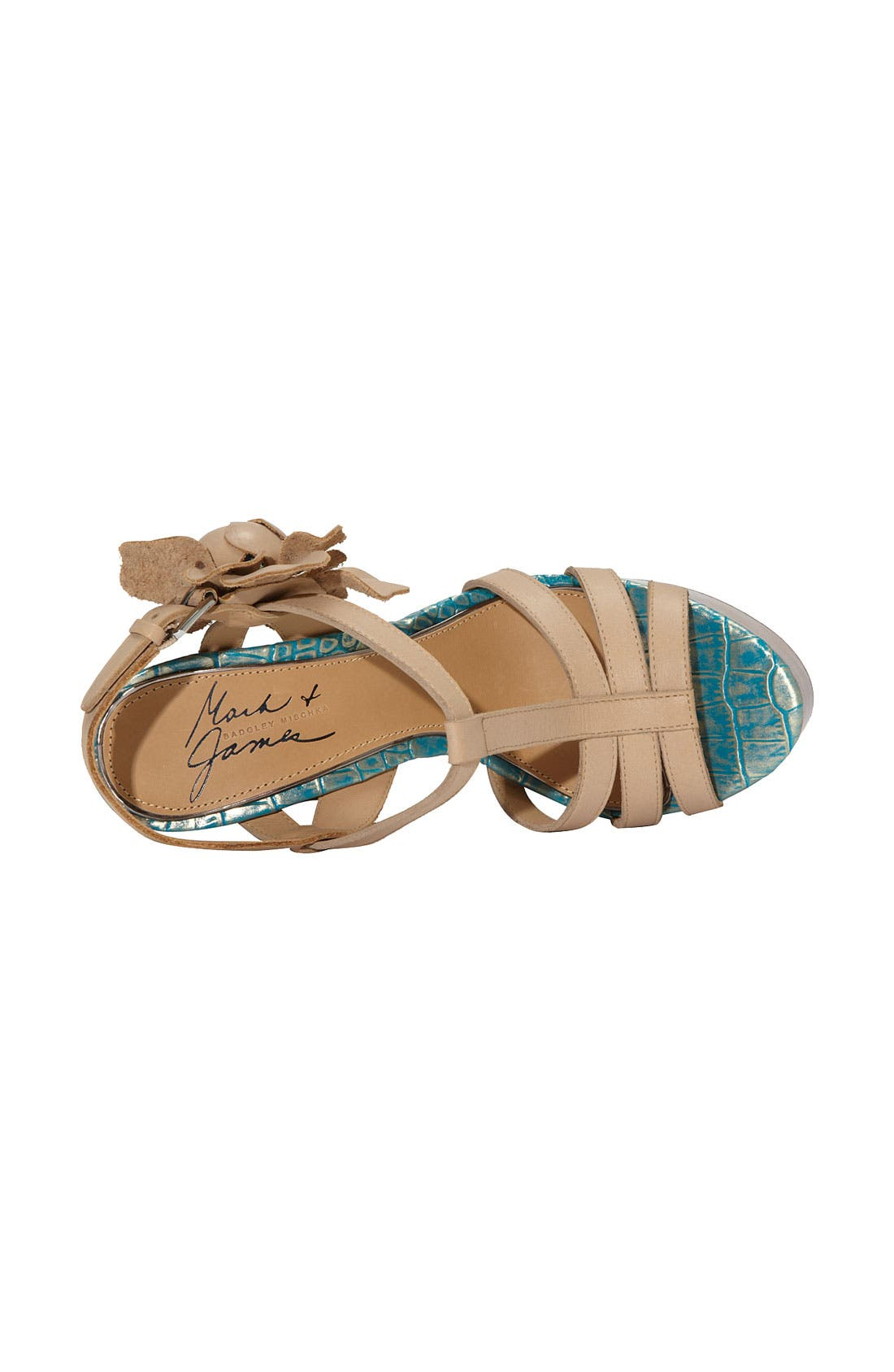 Alternate Image 3  - Mark & James by Badgley Mischka 'Maiko' T-Strap Sandal