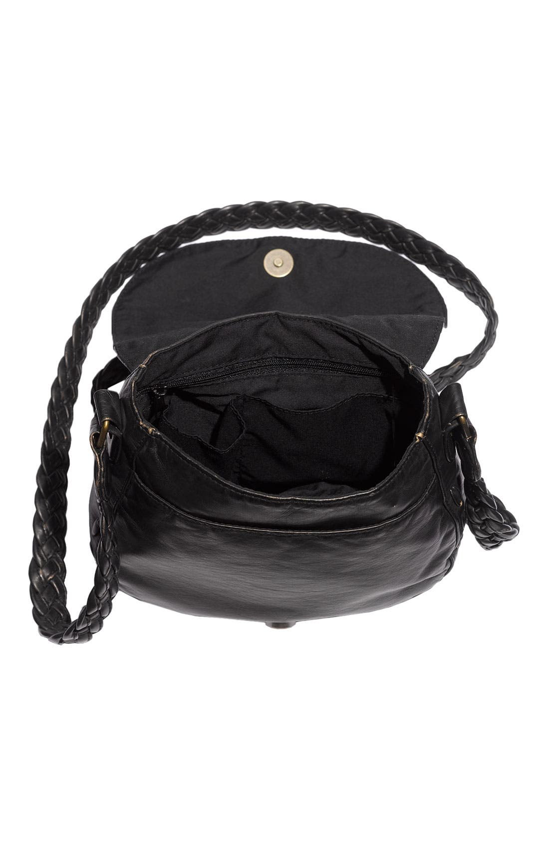 Alternate Image 3  - Lulu Braided Strap Crossbody Bag