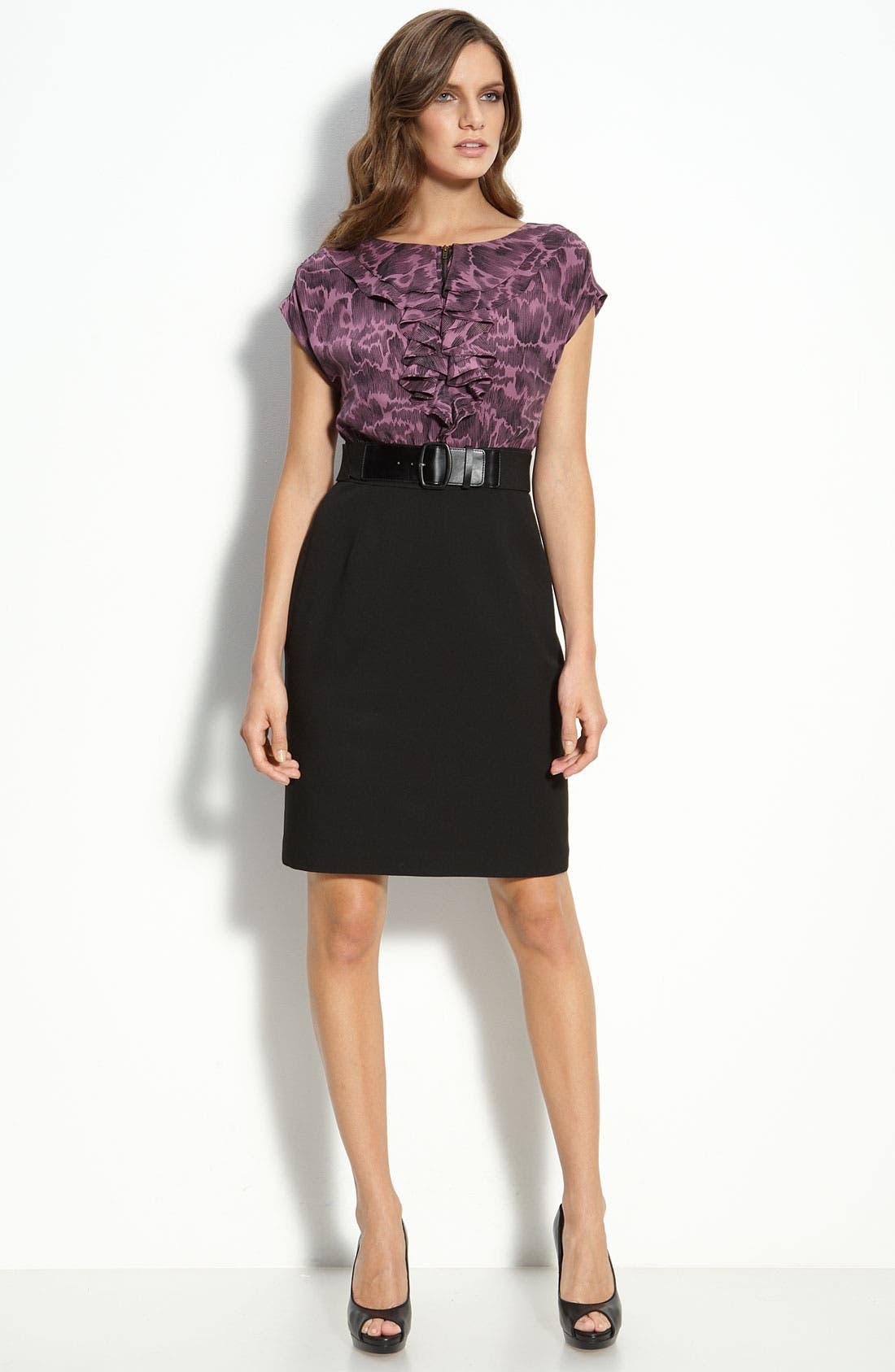 Main Image - Classiques Entier® Mock Two Piece Dress