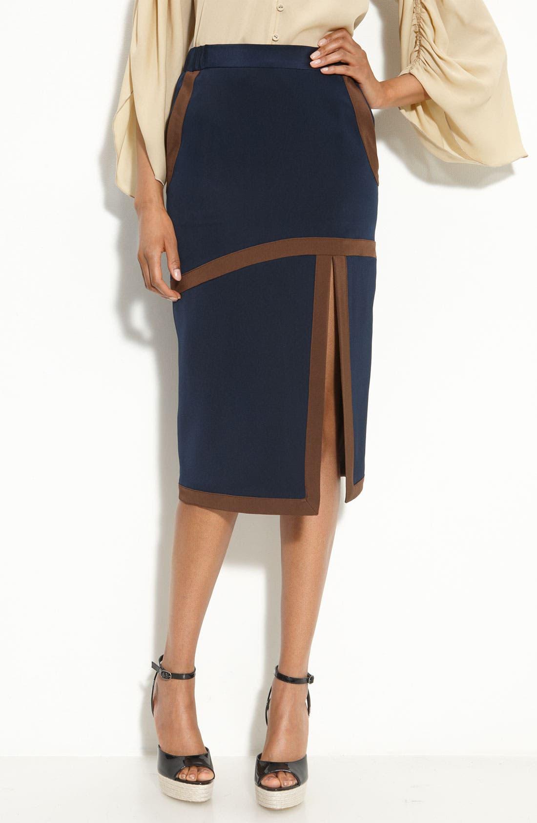 Alternate Image 1 Selected - RADENRORO 'Darmi' Silk Skirt