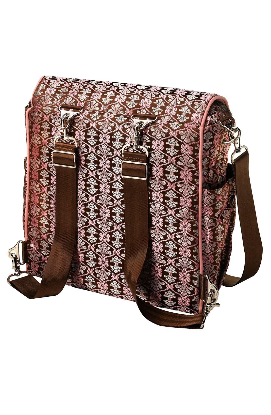 Alternate Image 2  - Petunia Pickle Bottom Brocade 'Boxy Backpack' Diaper Bag