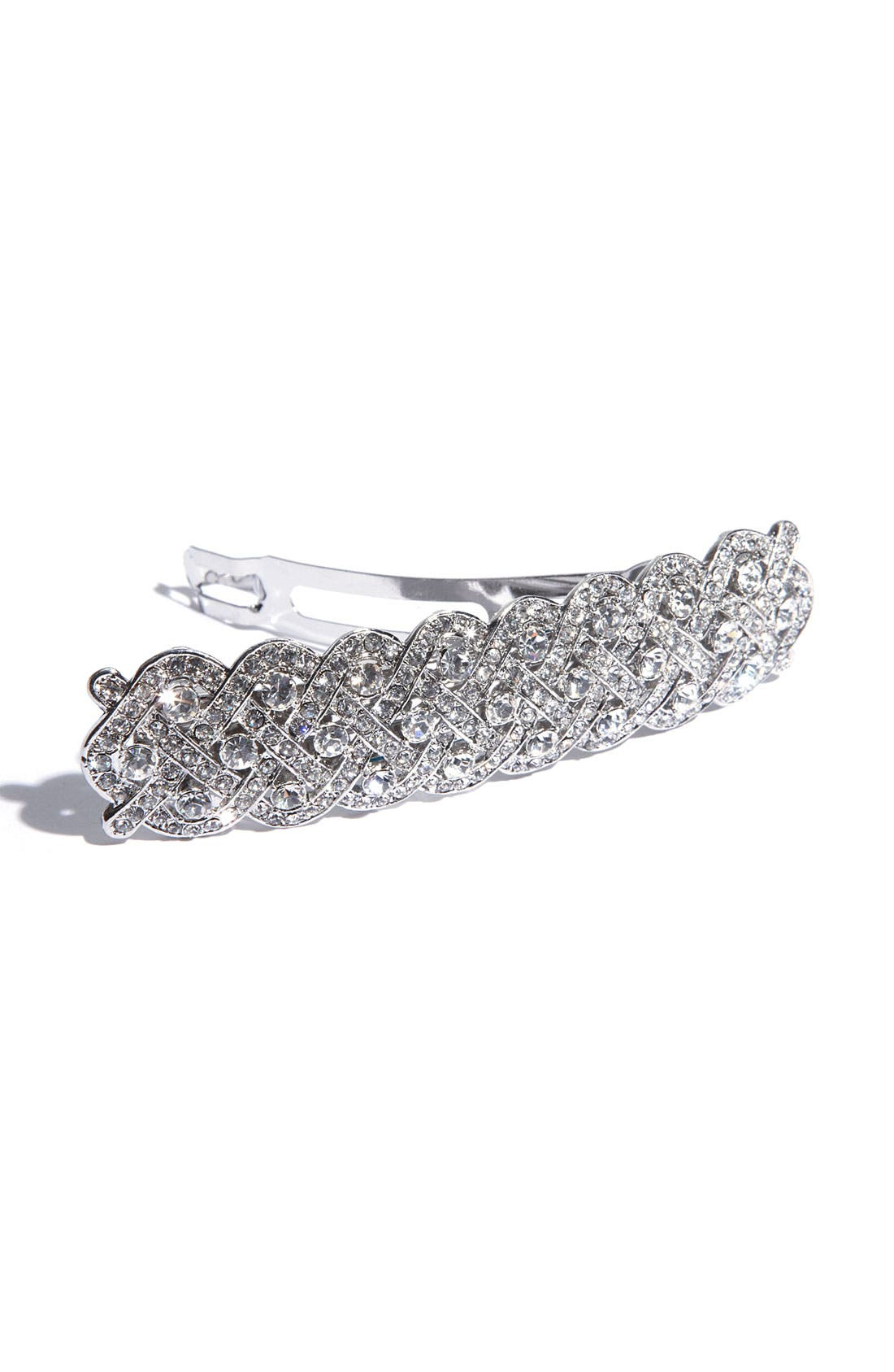 Alternate Image 2  - Tasha Braided Crystal Barrette
