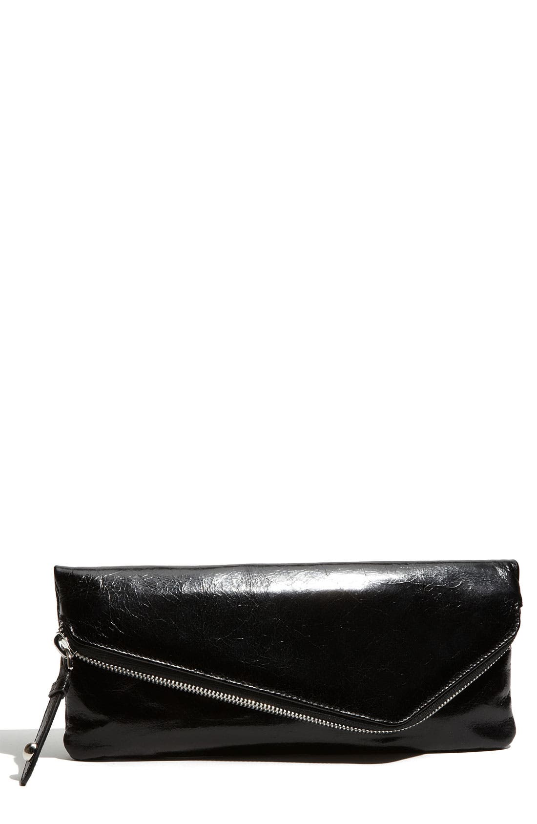 Main Image - Hobo 'Effe - Small' Glazed Leather Wallet