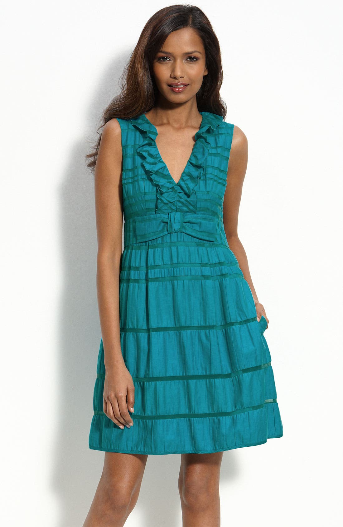 Alternate Image 1 Selected - Nanette Lepore Ruffled Dress