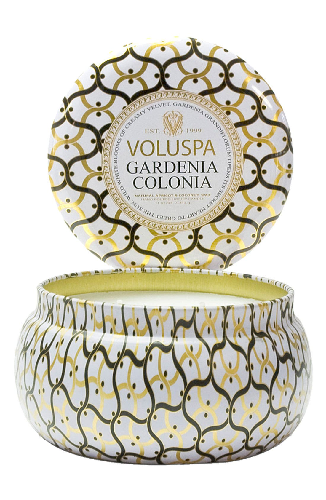 Main Image - Voluspa 'Maison Blanc - Gardenia Colonia' 2-Wick Candle