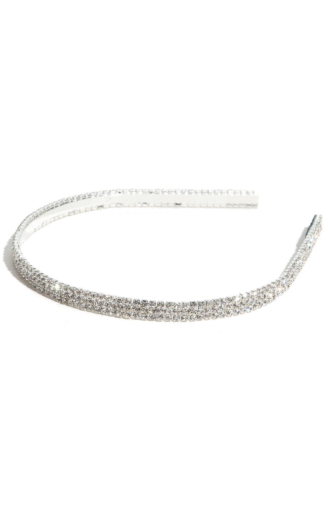 Alternate Image 2  - Tasha 'Solid Rows of Crystal' Headband