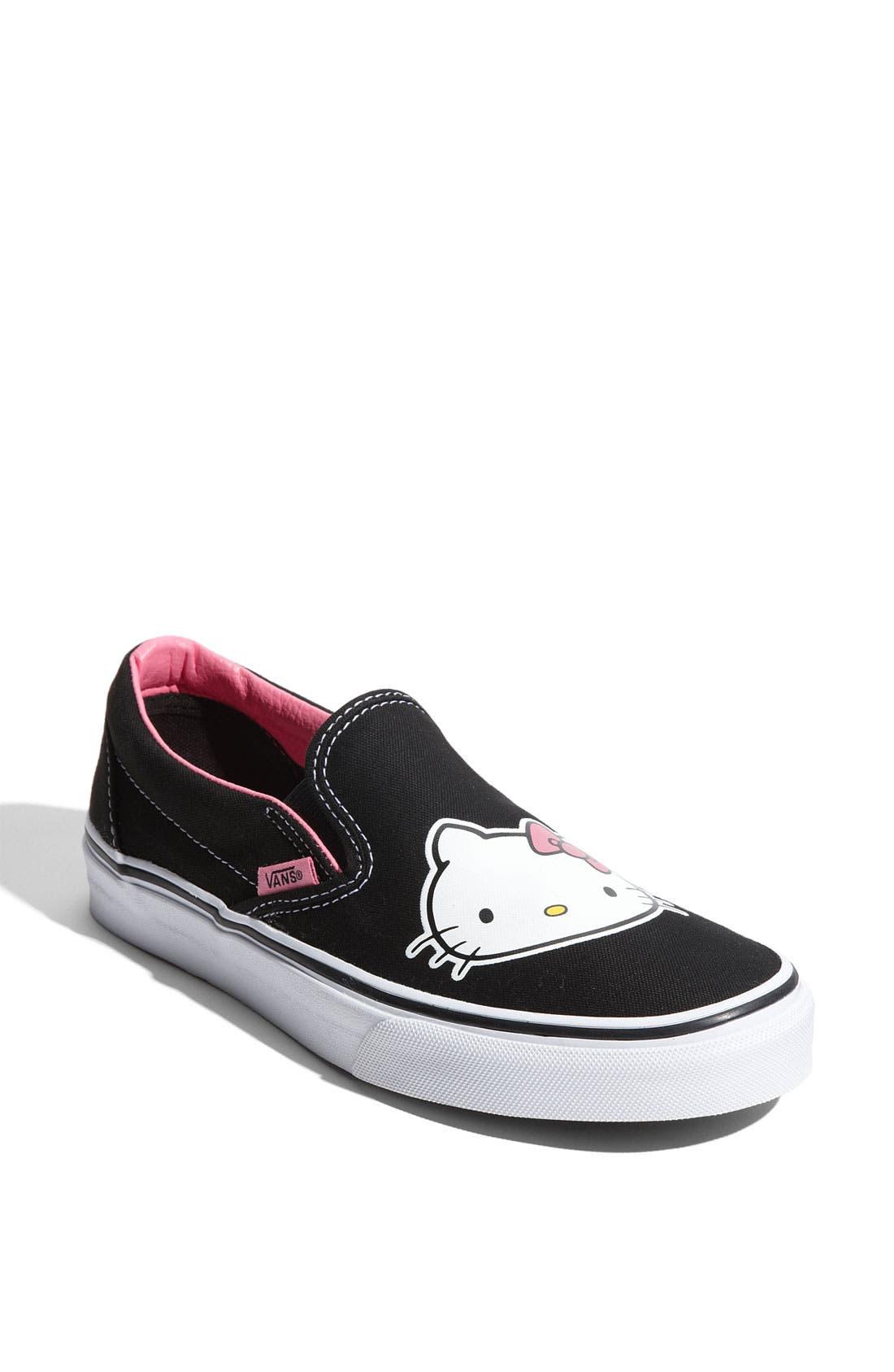 Alternate Image 1 Selected - Vans 'Hello Kitty®' Slip-On Sneaker (Women) (Limited Edition)