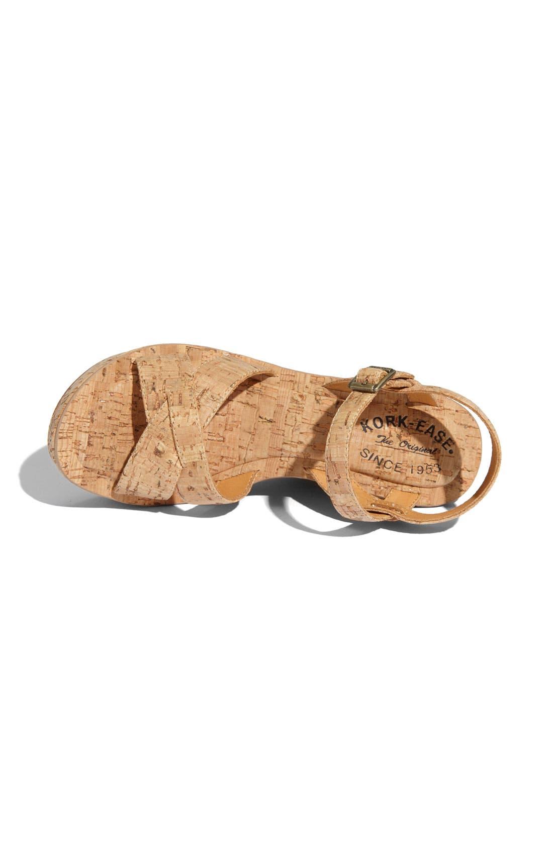 Alternate Image 3  - Kork-Ease 'Bette' Wedge Sandal