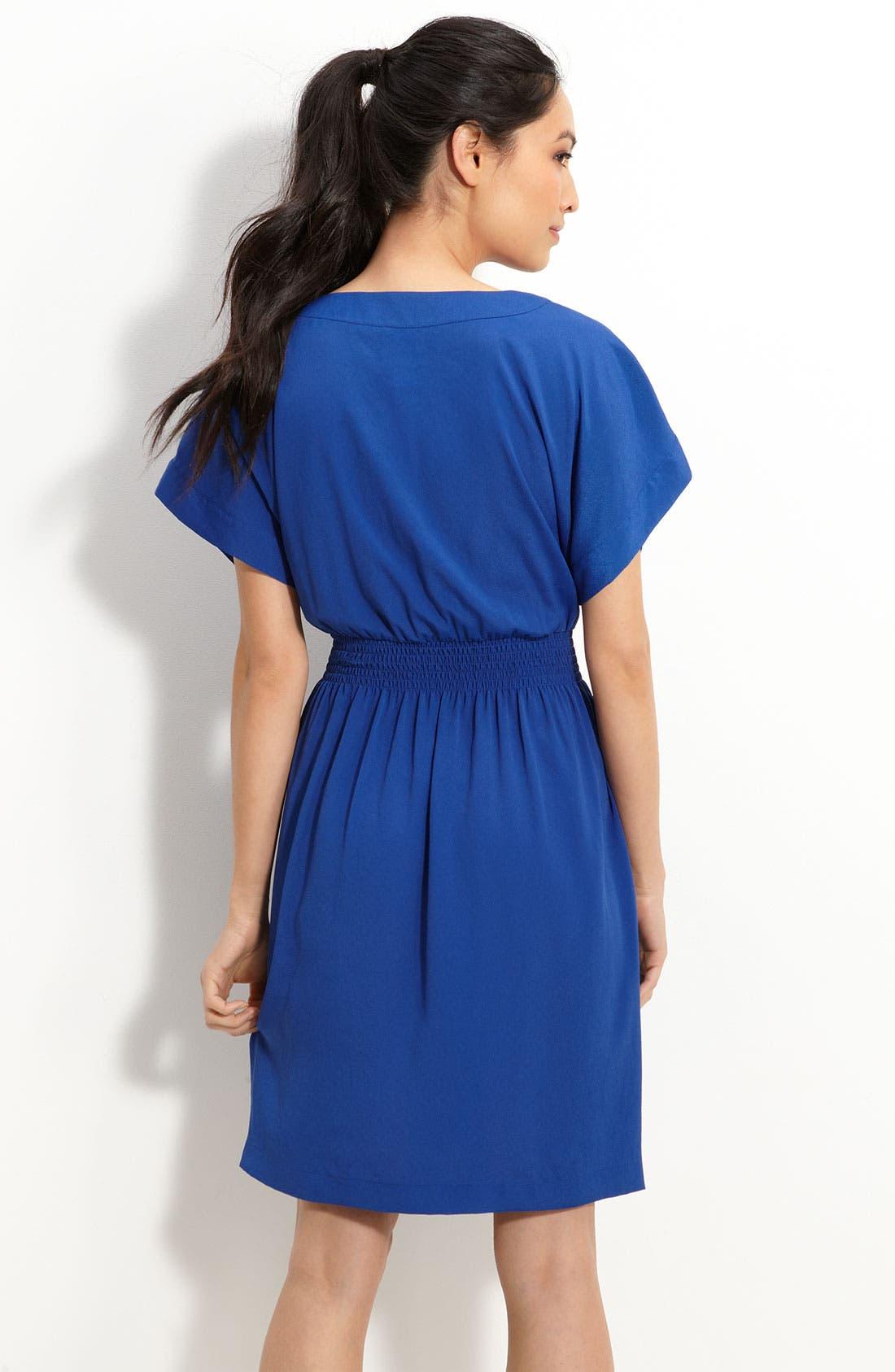 Alternate Image 2  - Suzi Chin for Maggy Boutique Blouson Crêpe de Chine Dress