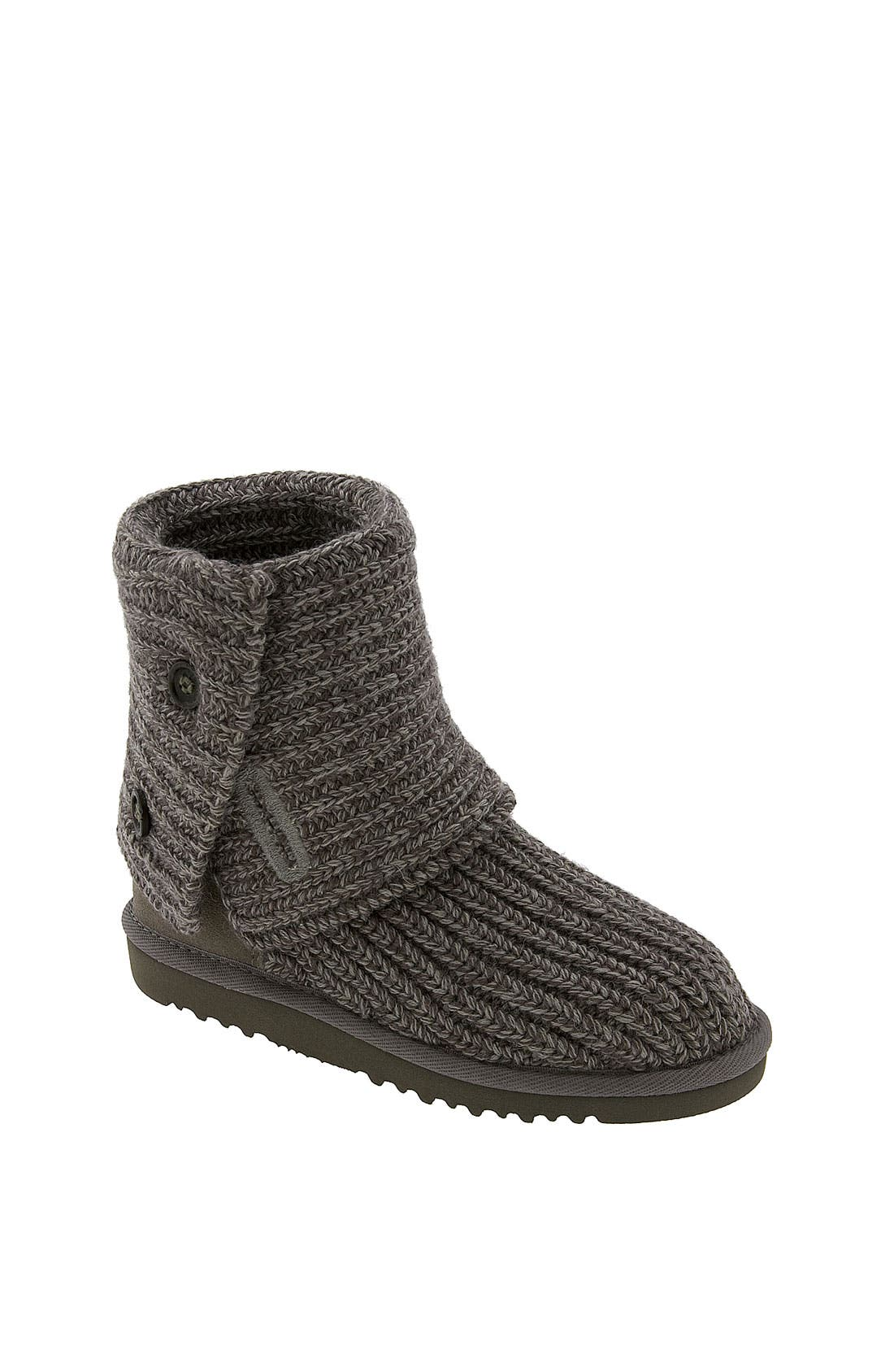 Alternate Image 2  - UGG® 'Cardy' Crochet Boot (Toddler, Little Kid & Big Kid)