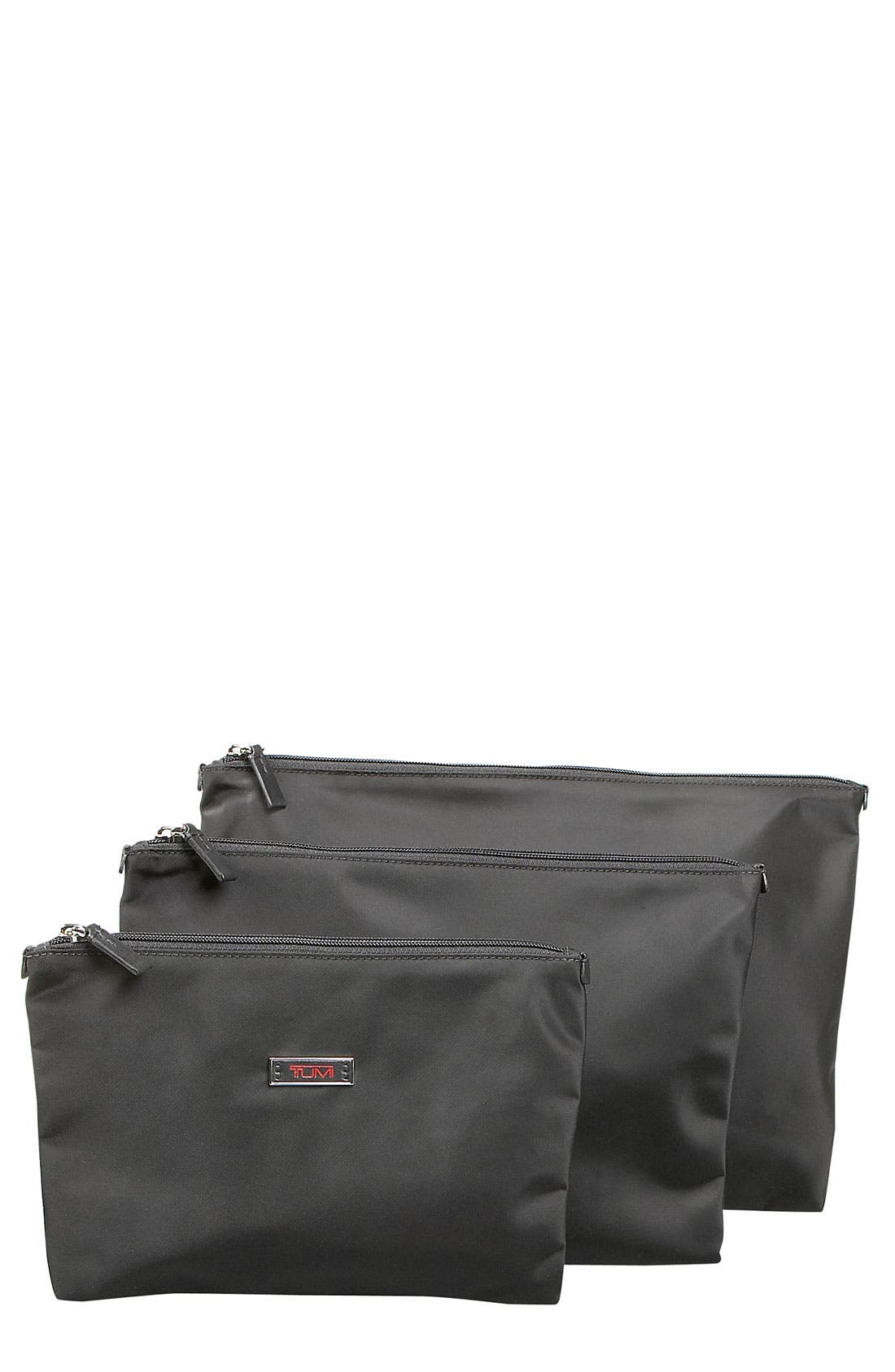 Alternate Image 1 Selected - Tumi Flat Pouch Set (3-Pack)