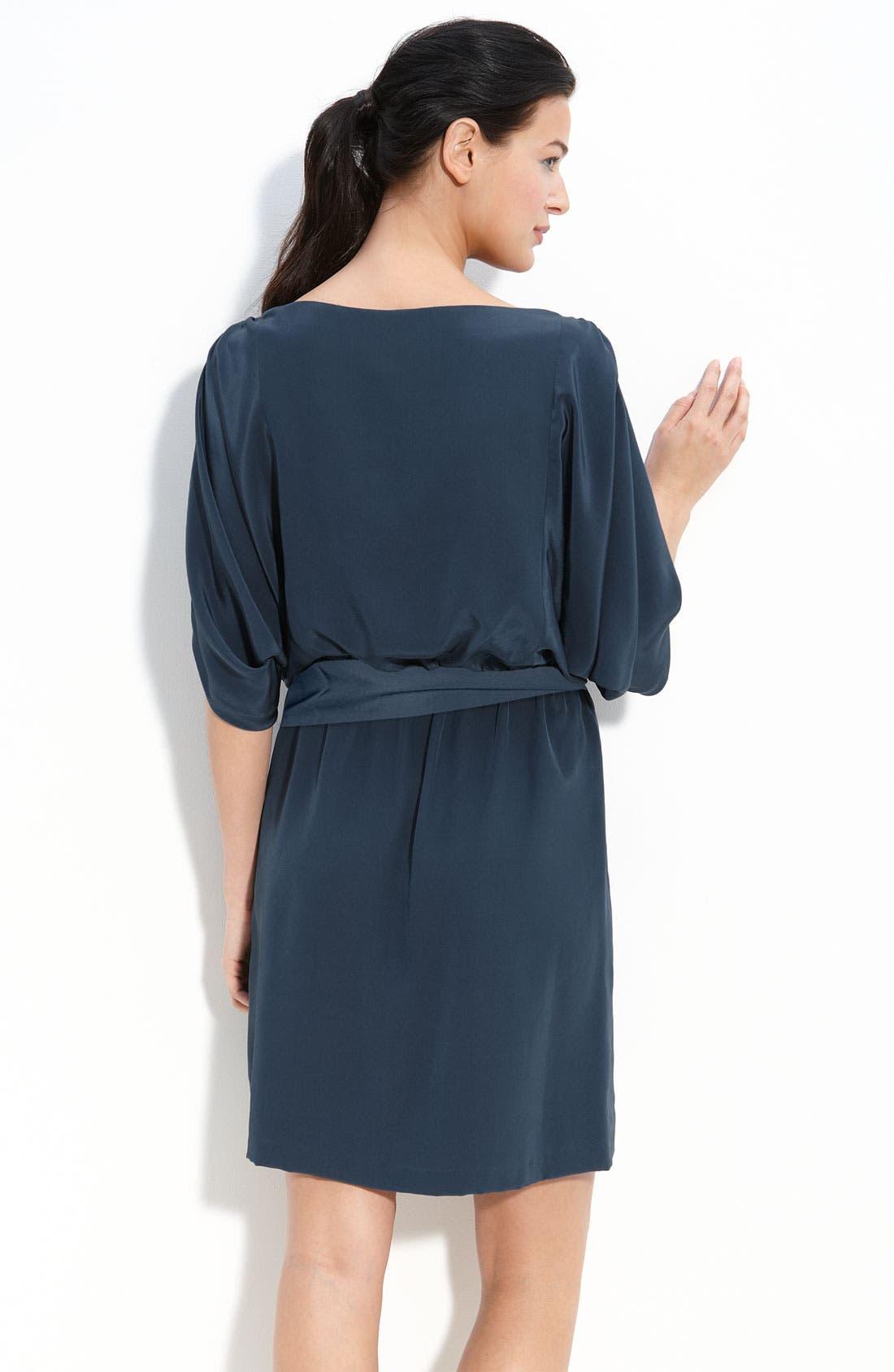 Alternate Image 2  - Suzi Chin for Maggy Boutique Silk Blouson Dress