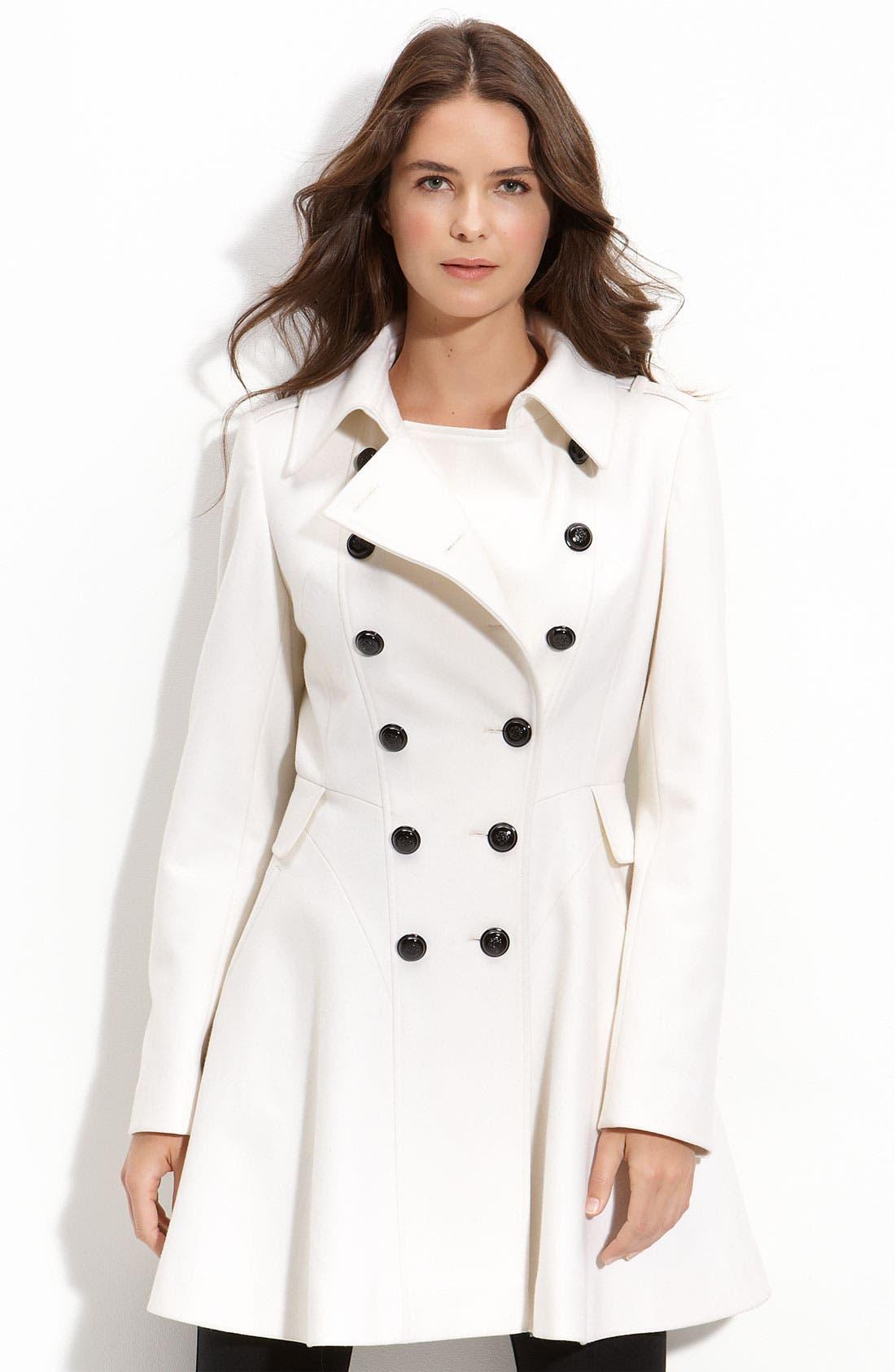 Alternate Image 1 Selected - Via Spiga 'Novara' Double Breasted Coat