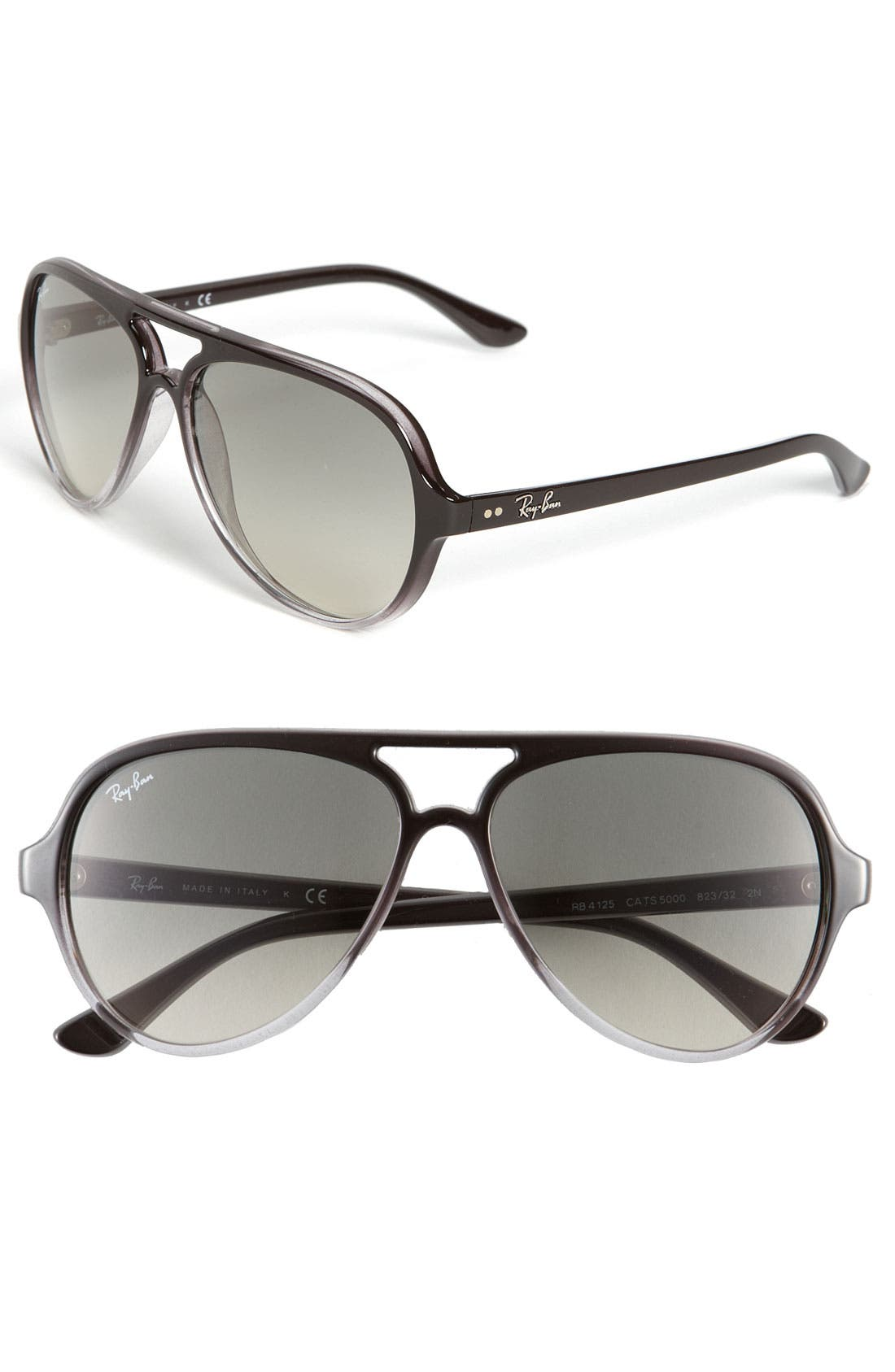 Alternate Image 1 Selected - Ray-Ban 59mm Resin Aviator Sunglasses