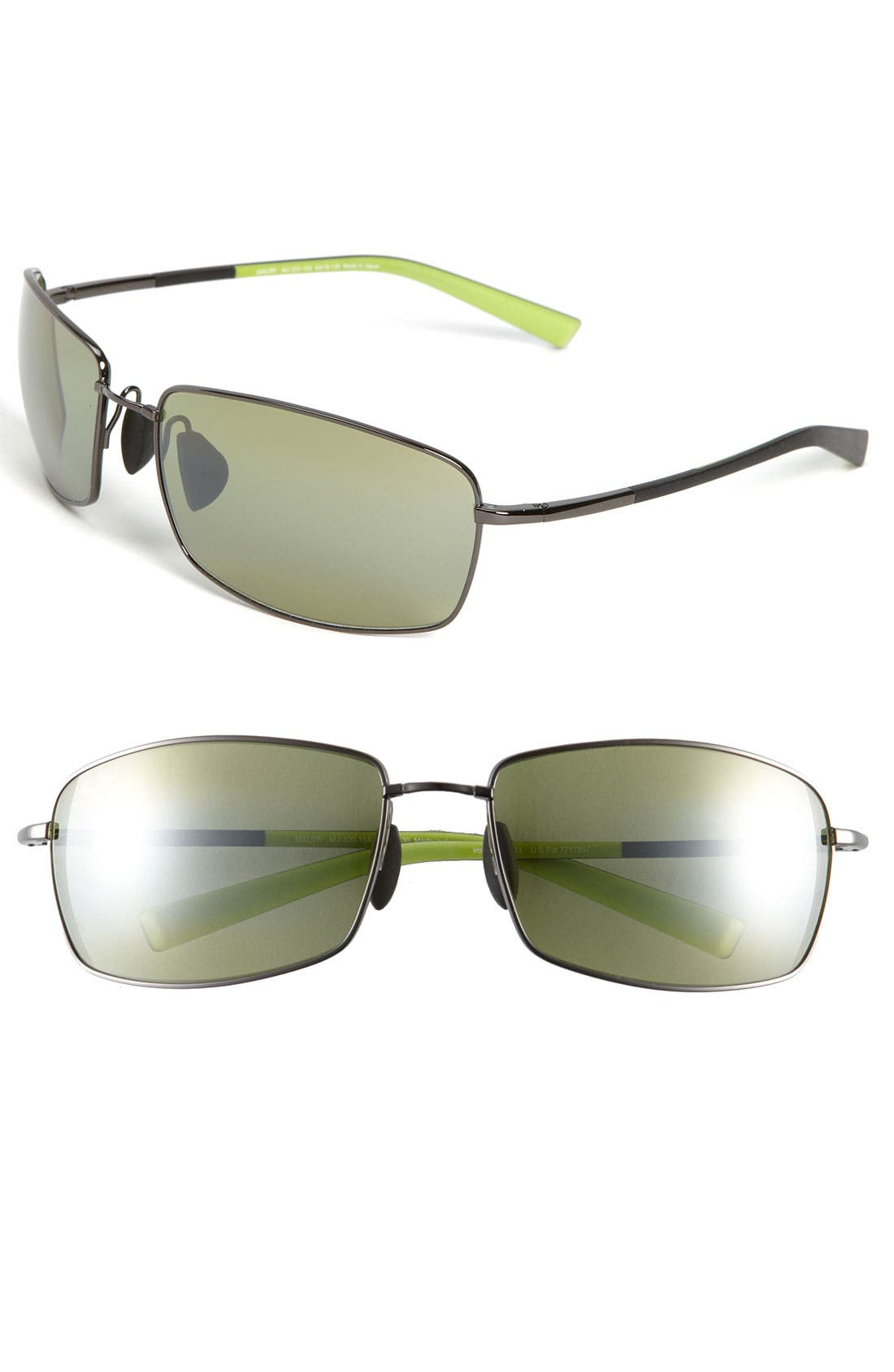 Main Image - Maui Jim 'MauiFlex - Ironwoods' PolarizedPlus® 64mm Sunglasses