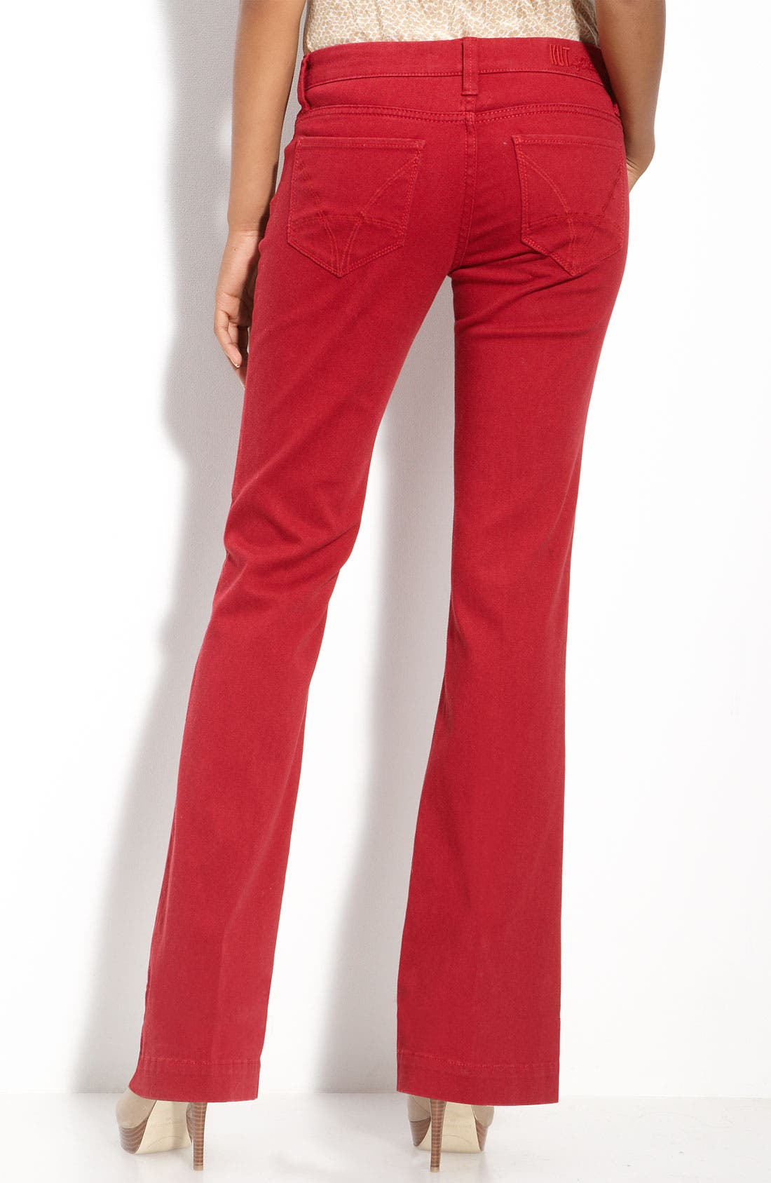 Main Image - KUT from the Kloth Colored Denim Flare Leg Jeans