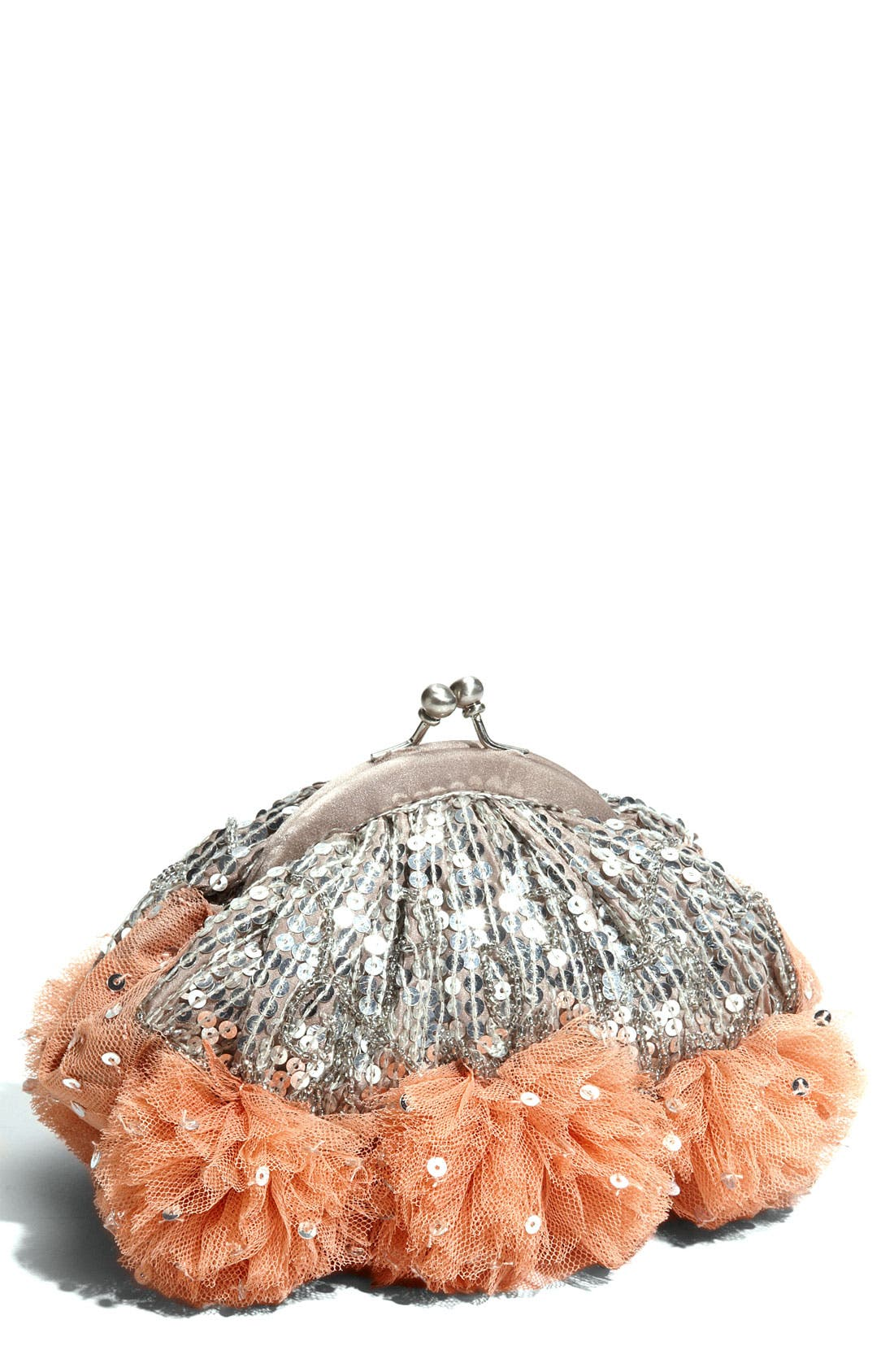 Alternate Image 1 Selected - Santi Sequin Frame Clutch