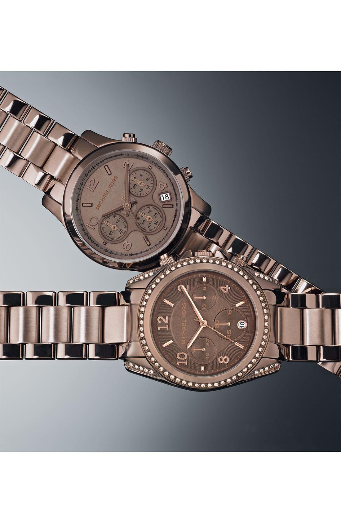 Alternate Image 3  - Michael Kors 'Blair' Chronograph Watch, 39mm