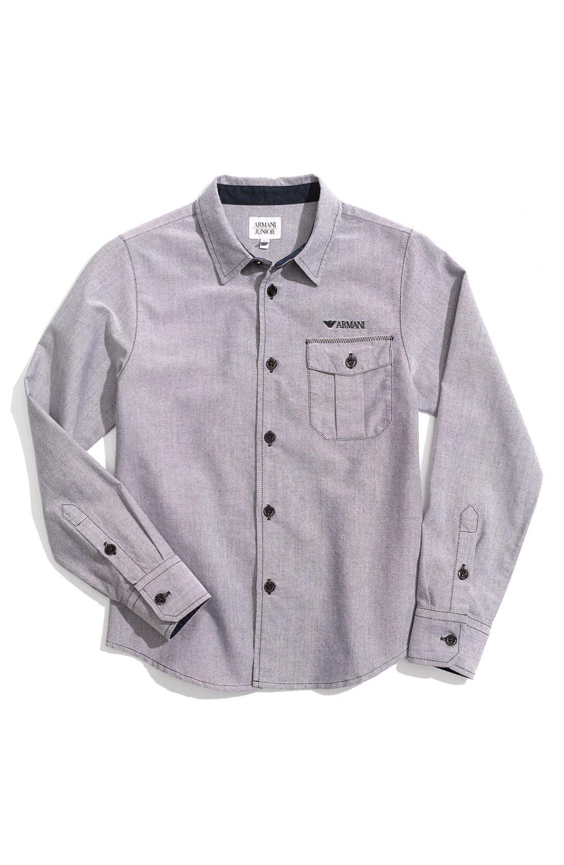 Alternate Image 1 Selected - Armani Junior Shirt (Little Boys)