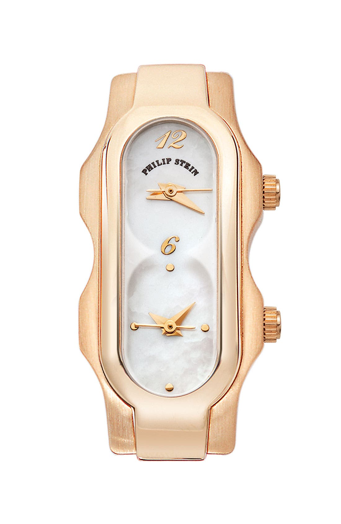 Alternate Image 1 Selected - Philip Stein® 'Signature' Mini Mother-of-Pearl Watch Case