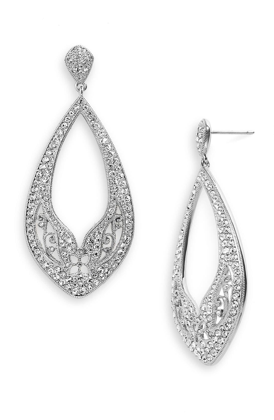 Alternate Image 1  - Nadri 'Ankara' Open Drop Earrings (Nordstrom Exclusive)