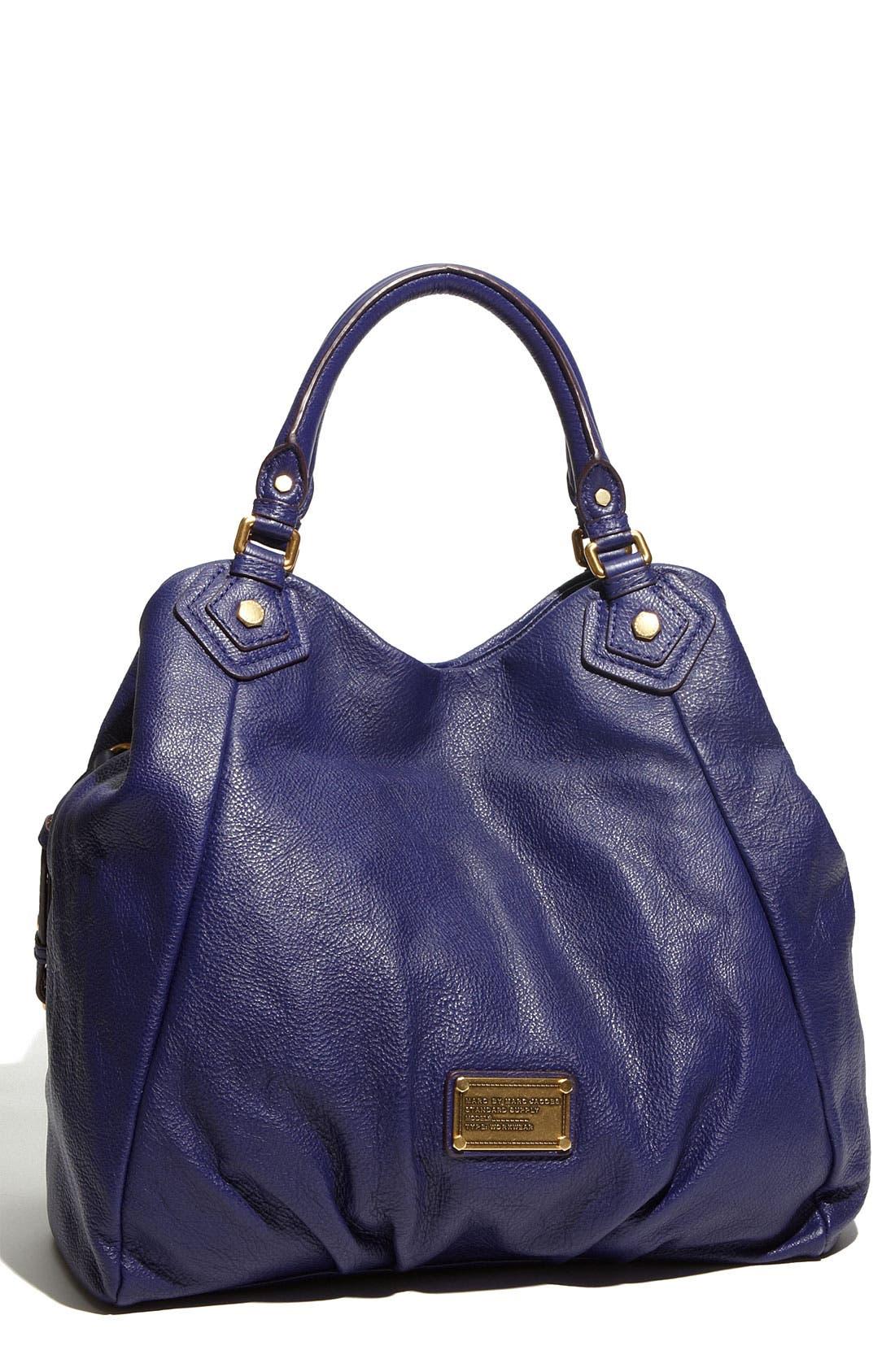 Main Image - MARC BY MARC JACOBS 'Classic Q - Francesca' Leather Shopper