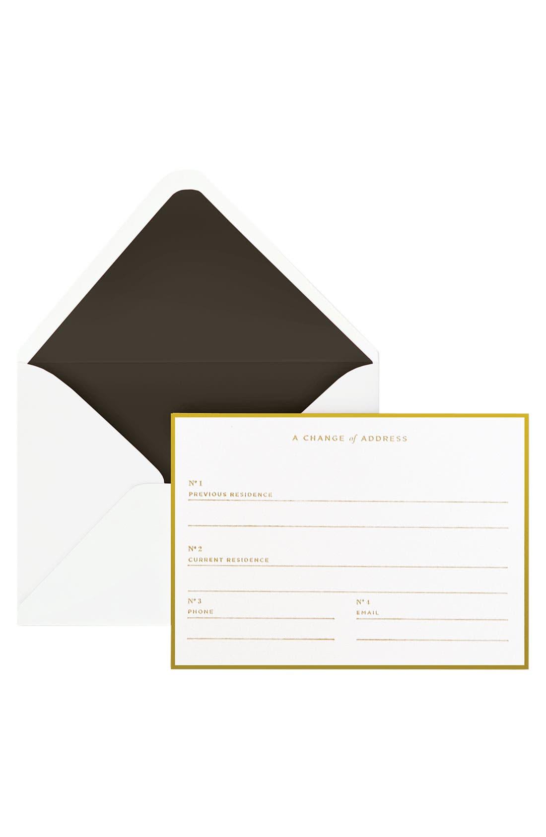 Alternate Image 2  - Change of Address Note Cards (Set of 16)