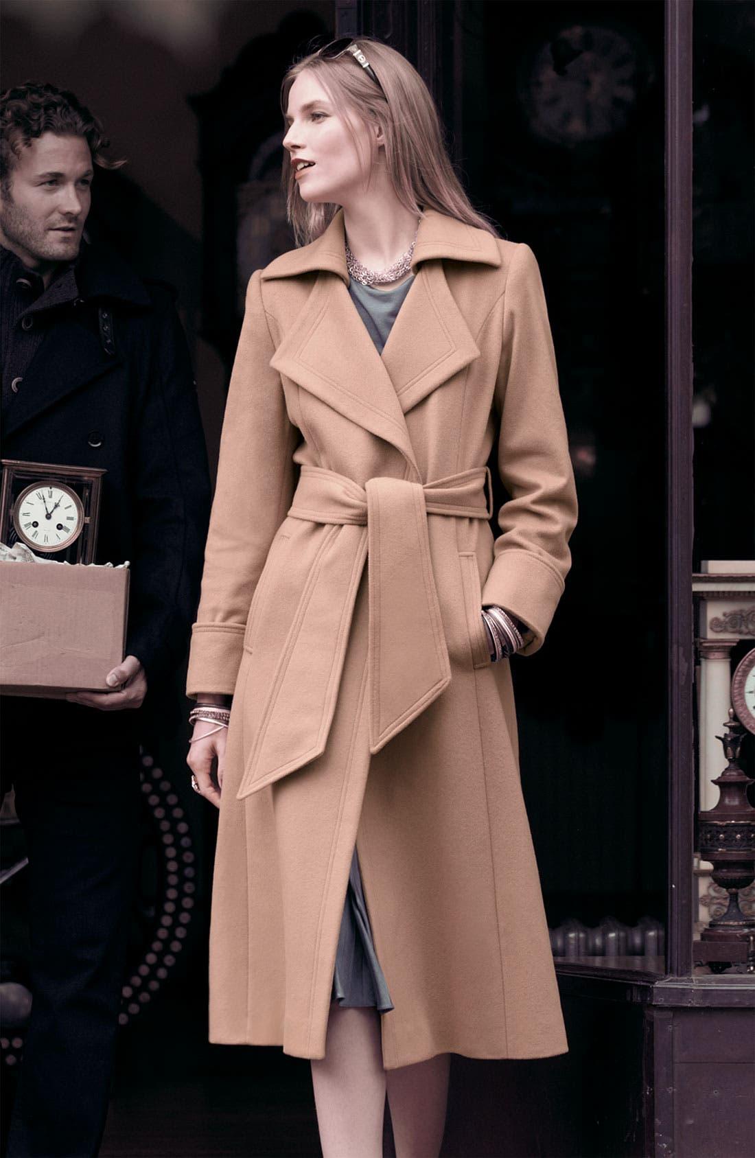 Alternate Image 3  - George Simonton Couture Long Wrap Coat