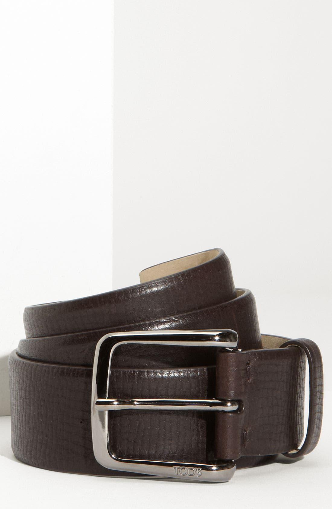 Alternate Image 1 Selected - Tod's Textured Leather Belt