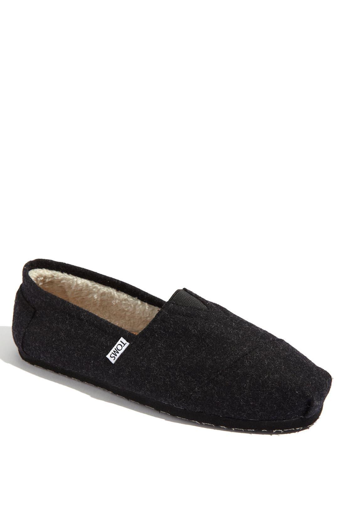 Main Image - TOMS 'Classic' Woolen Slip-On (Men)
