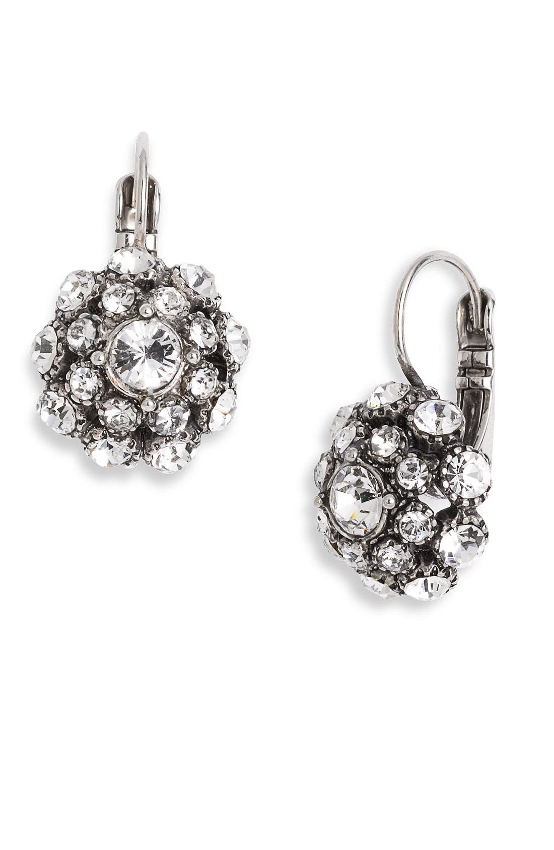 Main Image - kate spade new york 'putting on the ritz' drop earrings