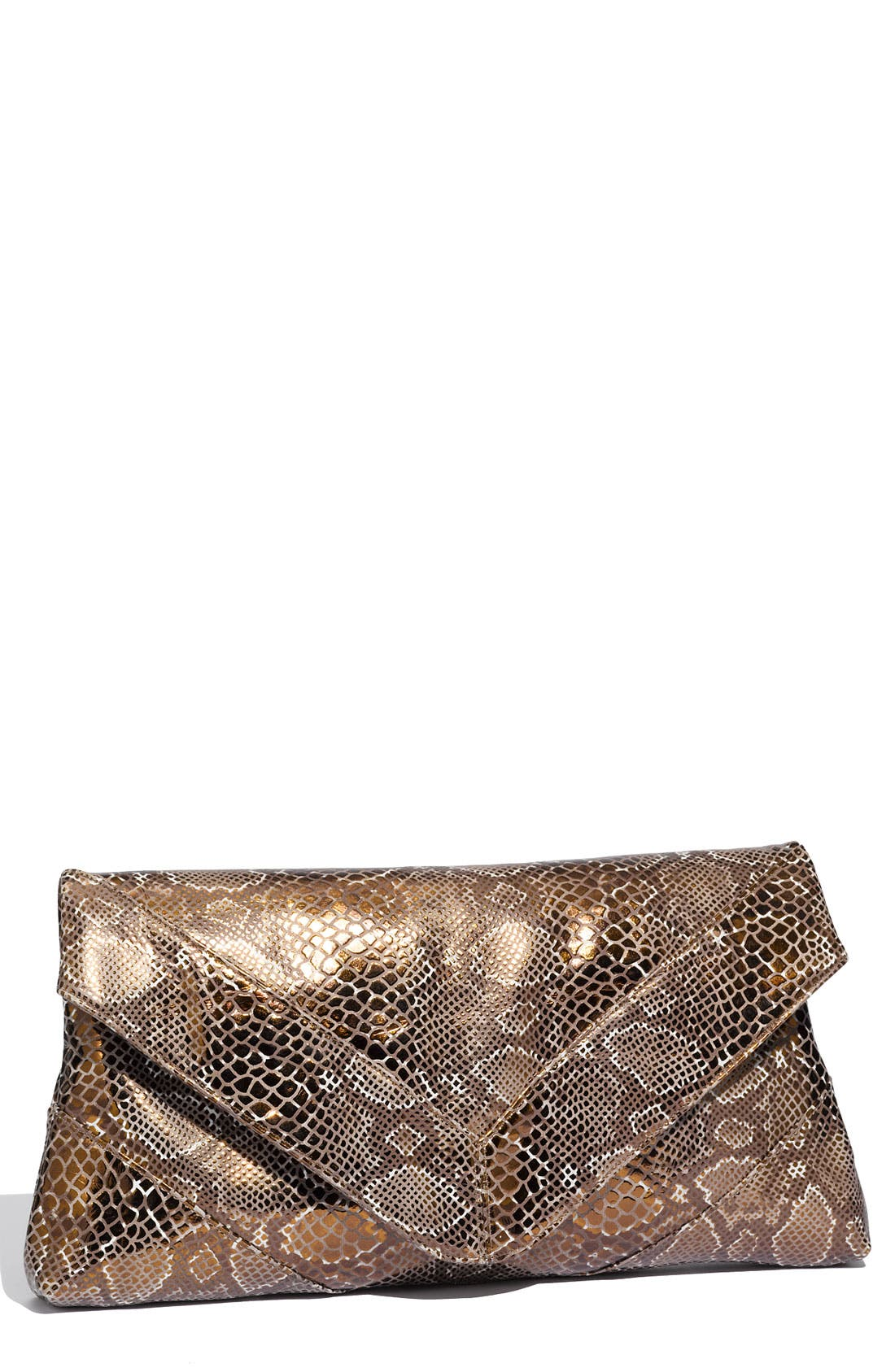 Alternate Image 1 Selected - Foley + Corinna Python Embossed Clutch