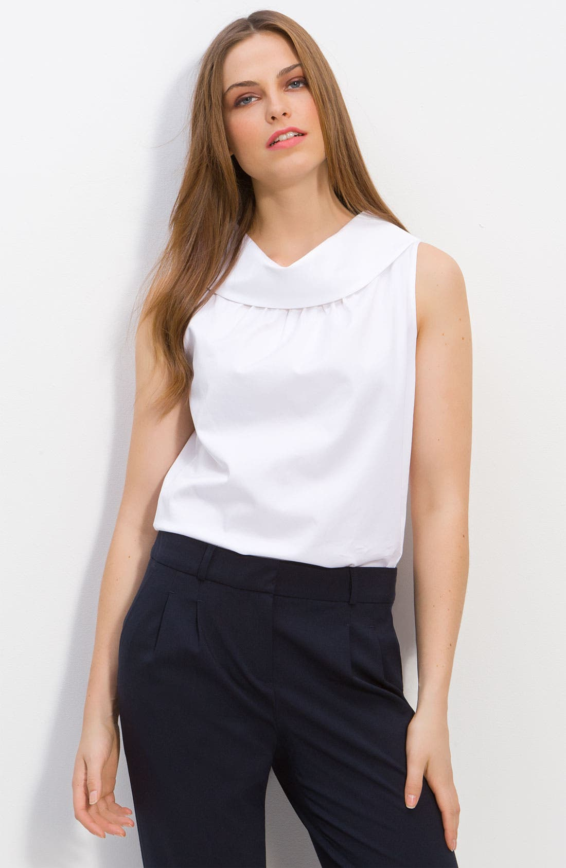 Alternate Image 1 Selected - kate spade new york 'blaise' sleeveless cowl neck blouse
