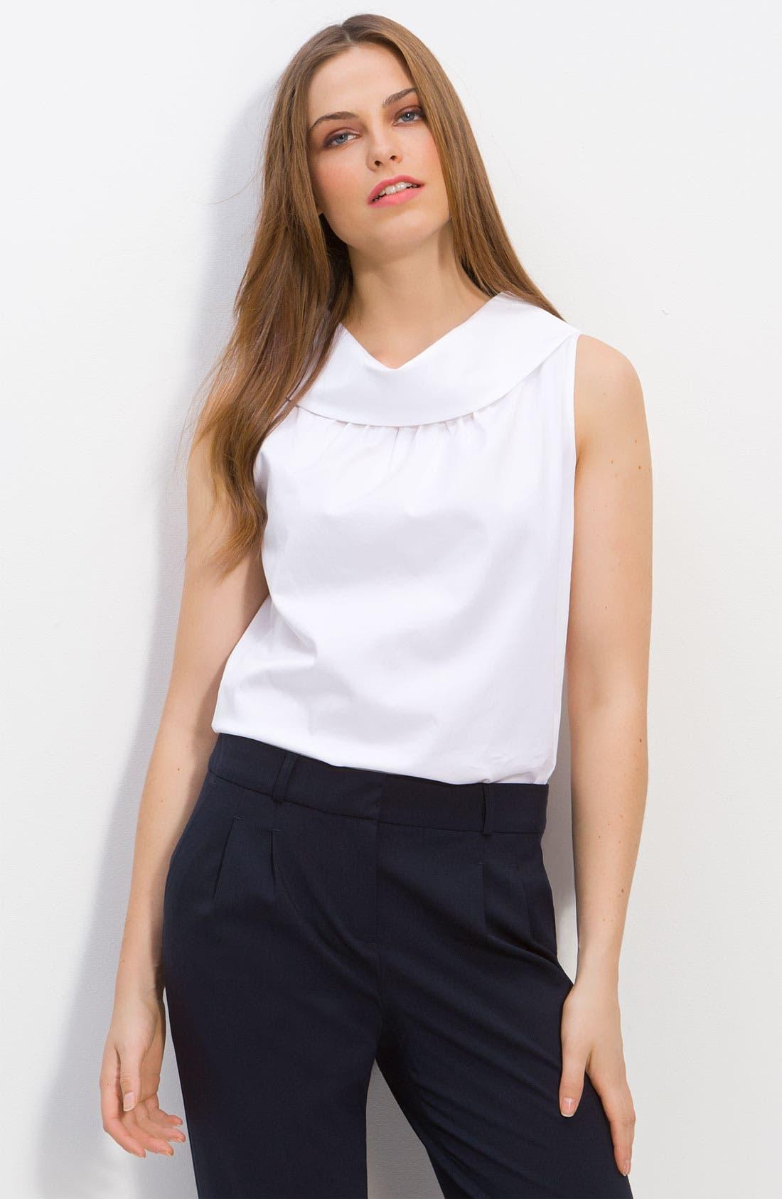 Main Image - kate spade new york 'blaise' sleeveless cowl neck blouse