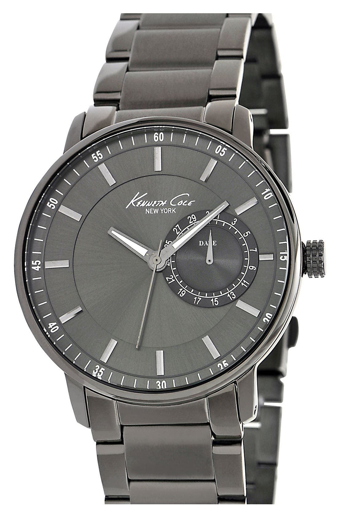 Alternate Image 1 Selected - Kenneth Cole New York Round Bracelet Watch