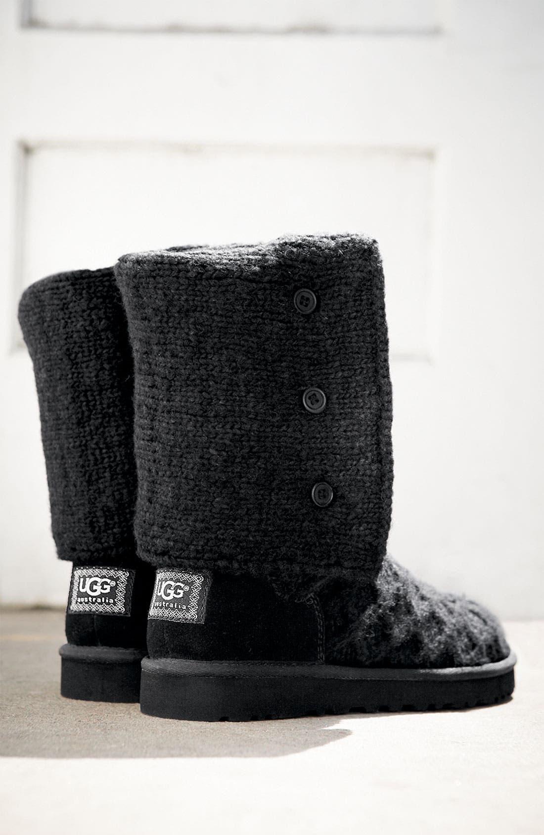 Alternate Image 5  - UGG® Australia 'Lattice Cardy' Boot (Women)