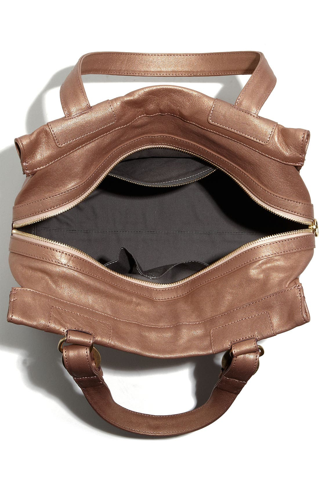 Alternate Image 3  - See By Chloé 'Poya Metallic Vintage' Leather Shoulder Bag