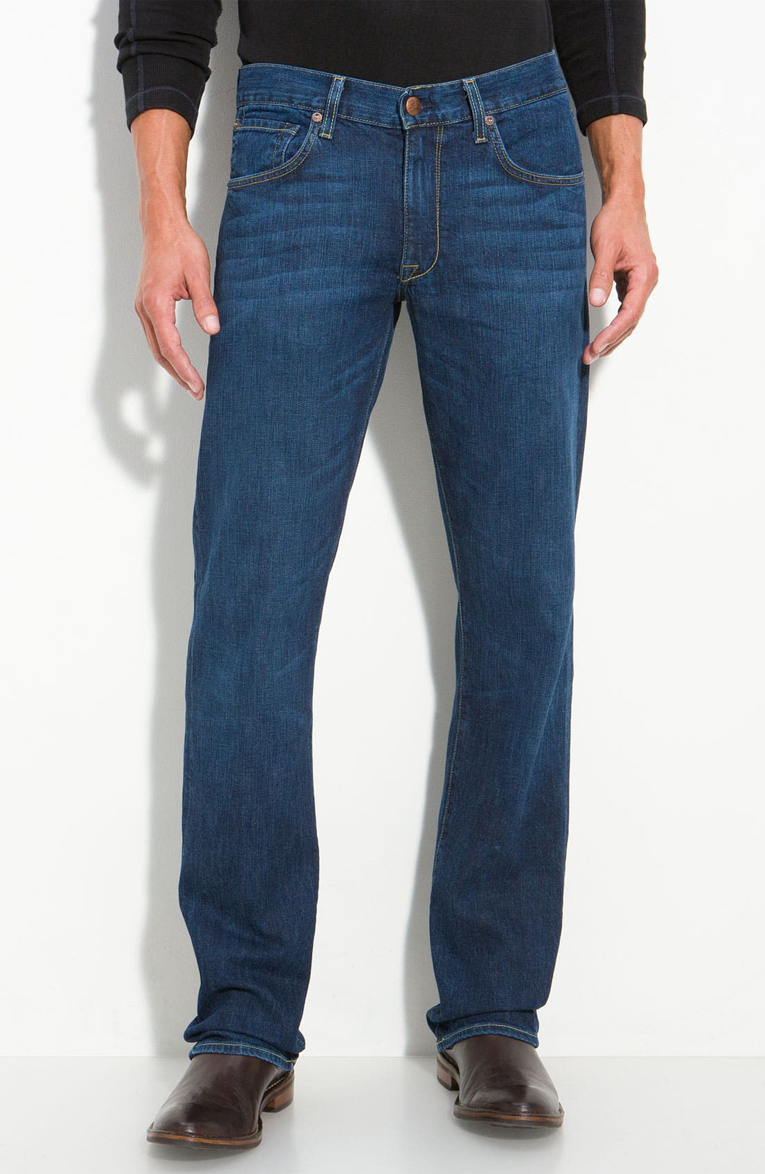 Main Image - Agave 'Gringo - Classic Fit' Straight Leg Jeans (Dana Point Dark)